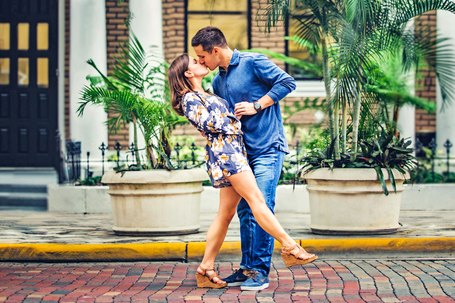 25 Sep 15Allie + David - Dancing Church Street Downtown orlando walkabout engagement - organic wedding photography 01.jpg