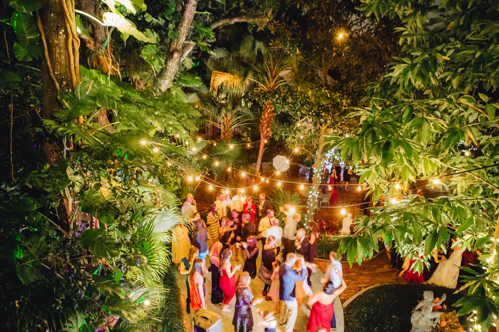 Downtown Orlando Wedding at Lake Lucerne Christmas Theme Red Dress Navy Suits 198.jpg