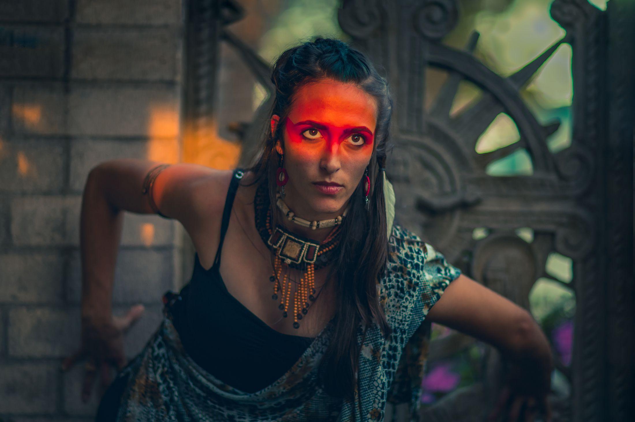 Electric Forest yoga LED light nomad festival style ethnic global fashion shoot warpaint tribal 2.jpg