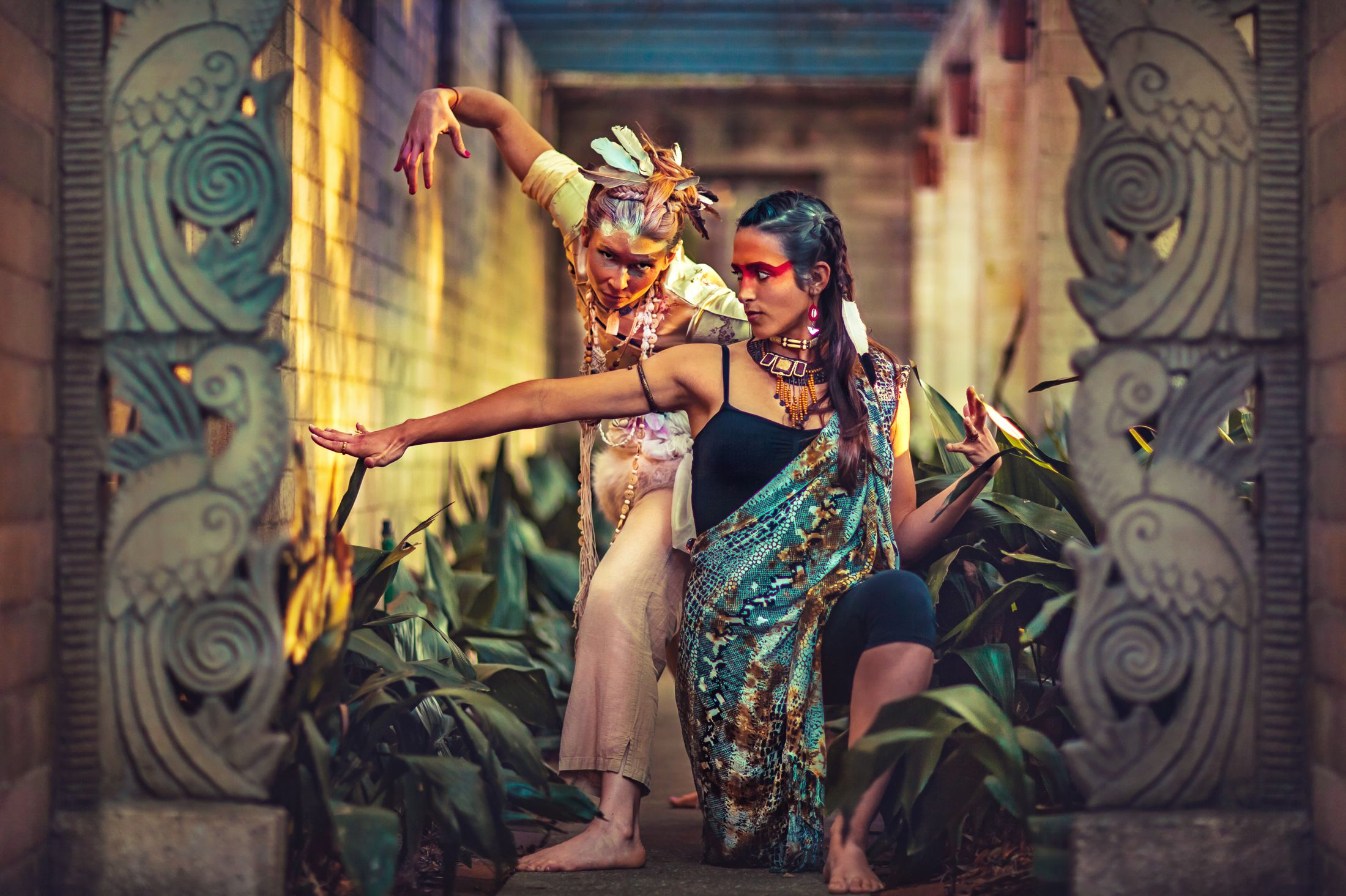 Electric Forest yoga LED light nomad festival style ethnic global fashion shoot warpaint tribal 4.jpg