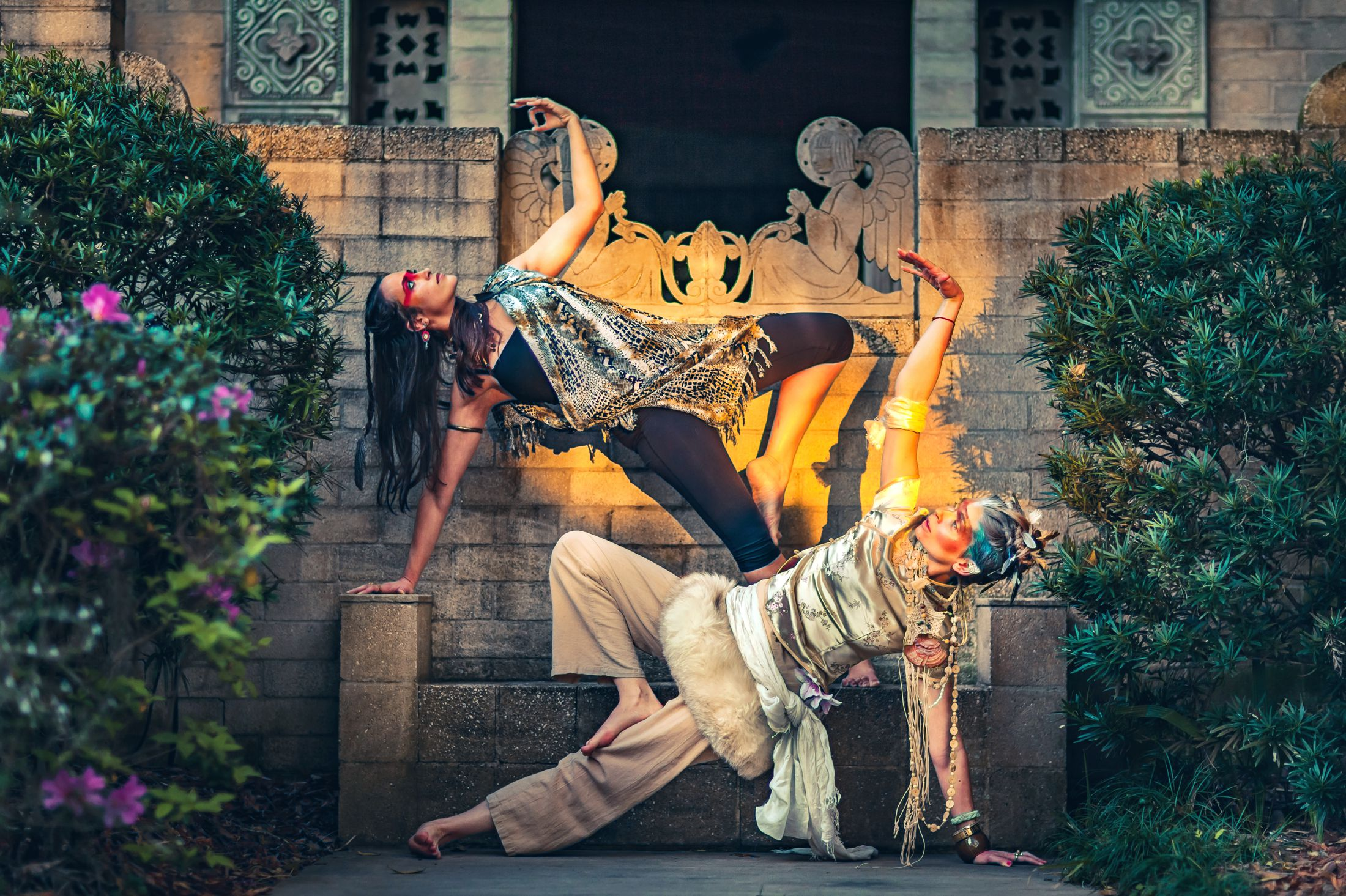 Electric Forest yoga LED light nomad festival style ethnic global fashion shoot warpaint tribal 6.jpg