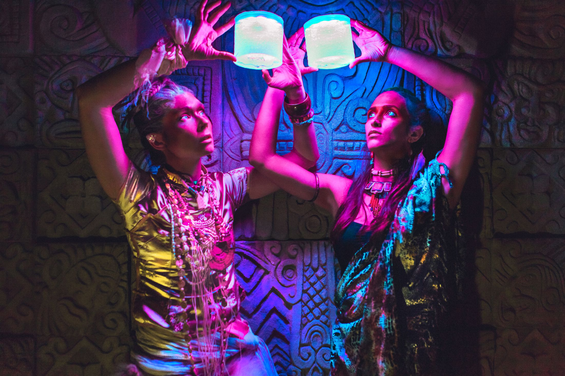 Electric Forest yoga LED light nomad festival style ethnic global fashion shoot warpaint tribal 10.jpg