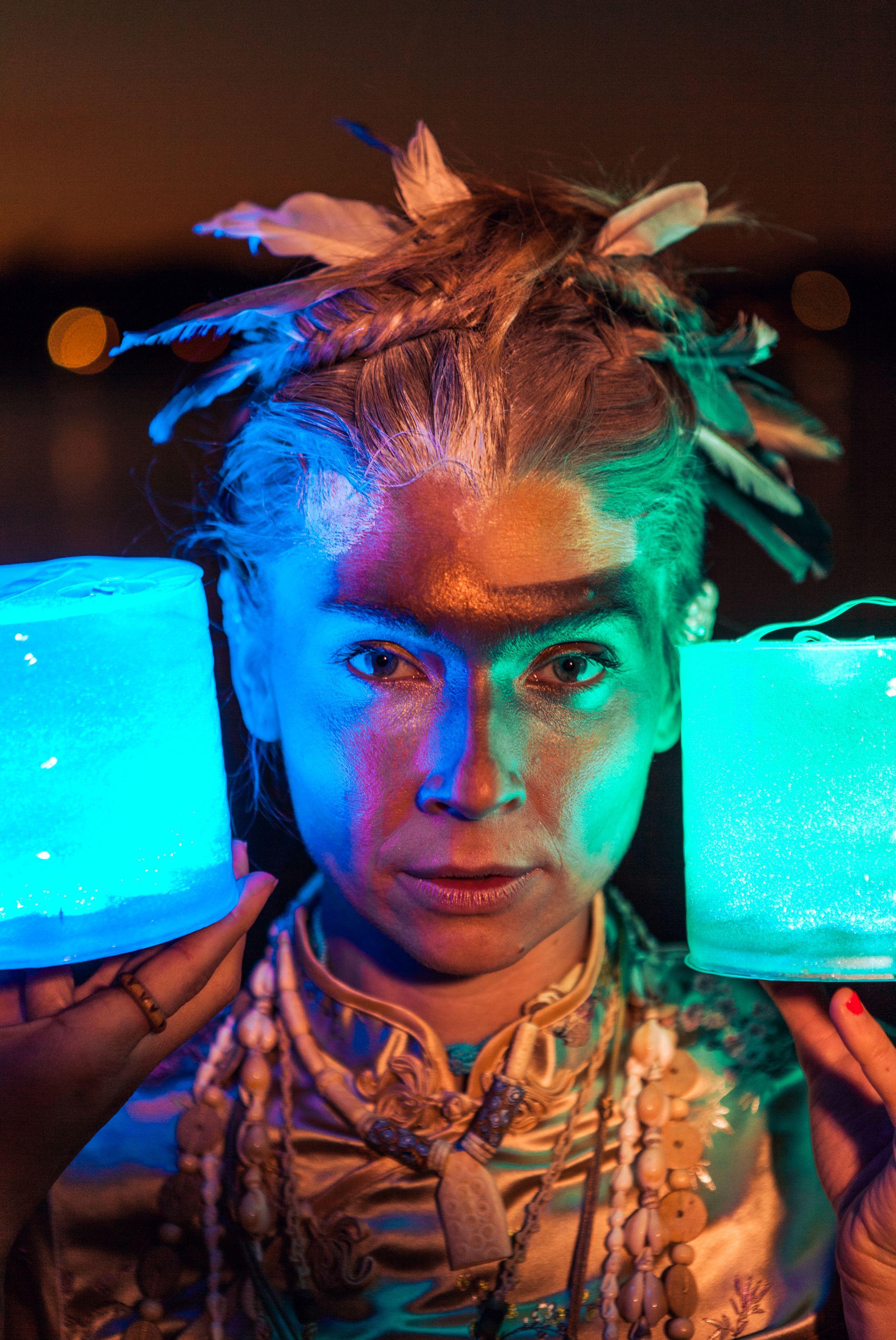 Electric Forest yoga LED light nomad festival style ethnic global fashion shoot warpaint tribal 12.jpg