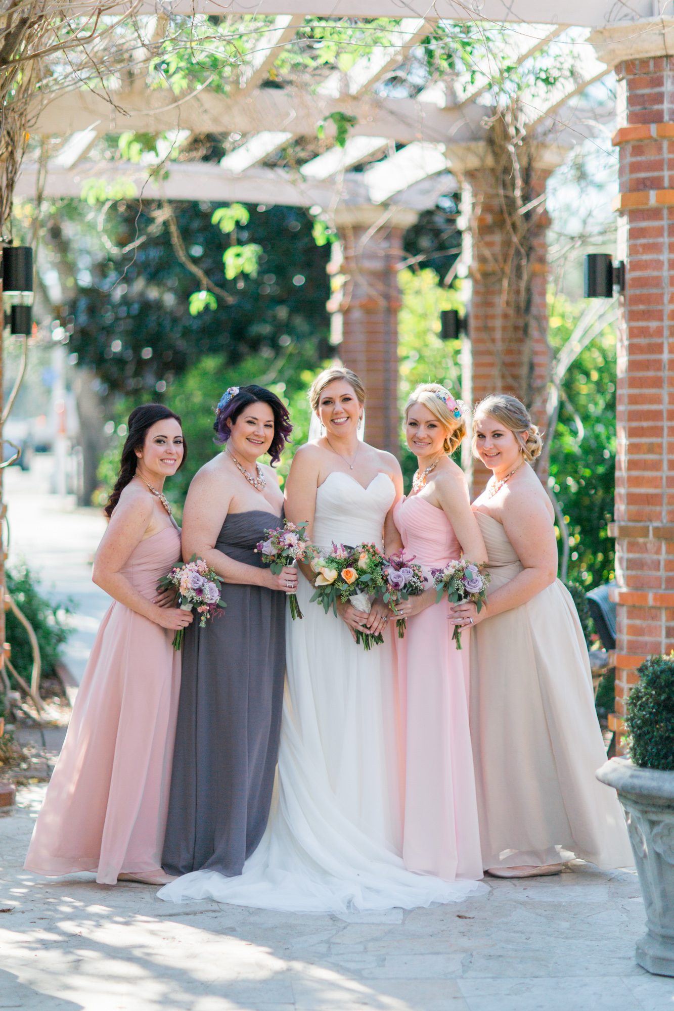 Winter Park Farmer's Market Wedding- Michael & Megan Fine Art Wedding Purple echeveria eucalyptus rose florals6.jpg