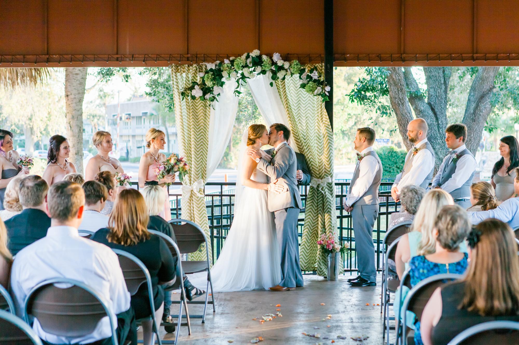 Winter Park Farmer's Market Wedding- Michael & Megan Fine Art Wedding Purple echeveria eucalyptus rose florals12.jpg