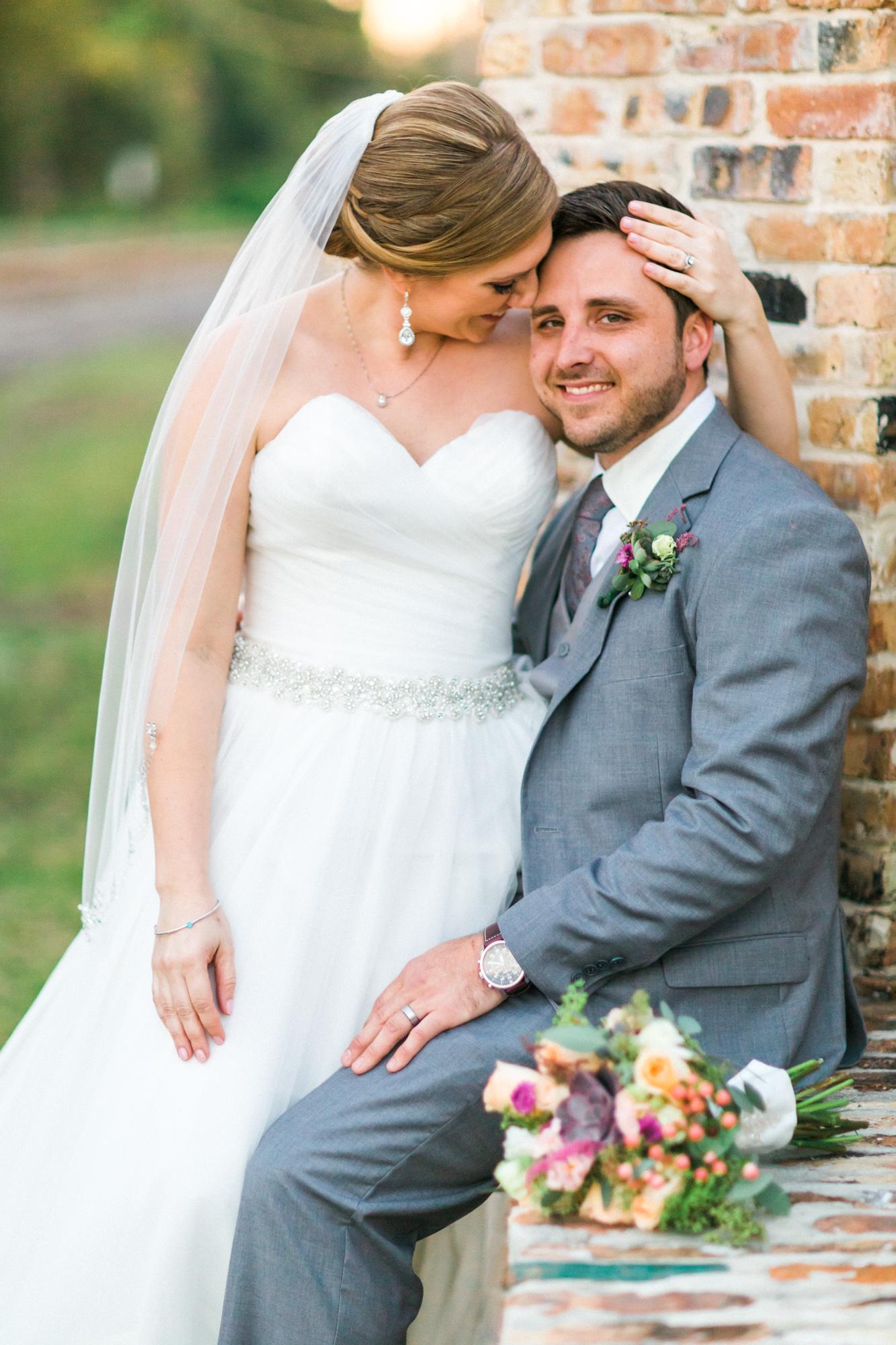 Winter Park Farmer's Market Wedding- Michael & Megan Fine Art Wedding Purple echeveria eucalyptus rose florals13.jpg