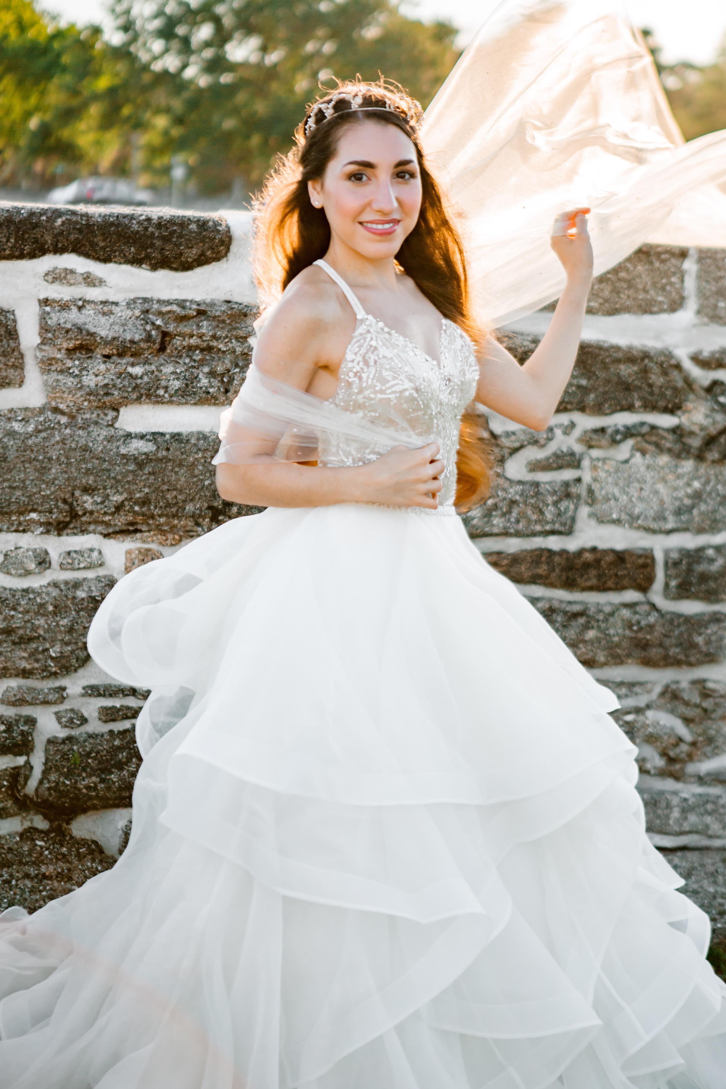 St. Augustine fine art wedding castillo de san marco floral wedding photographer shaina deciryan 46.jpg