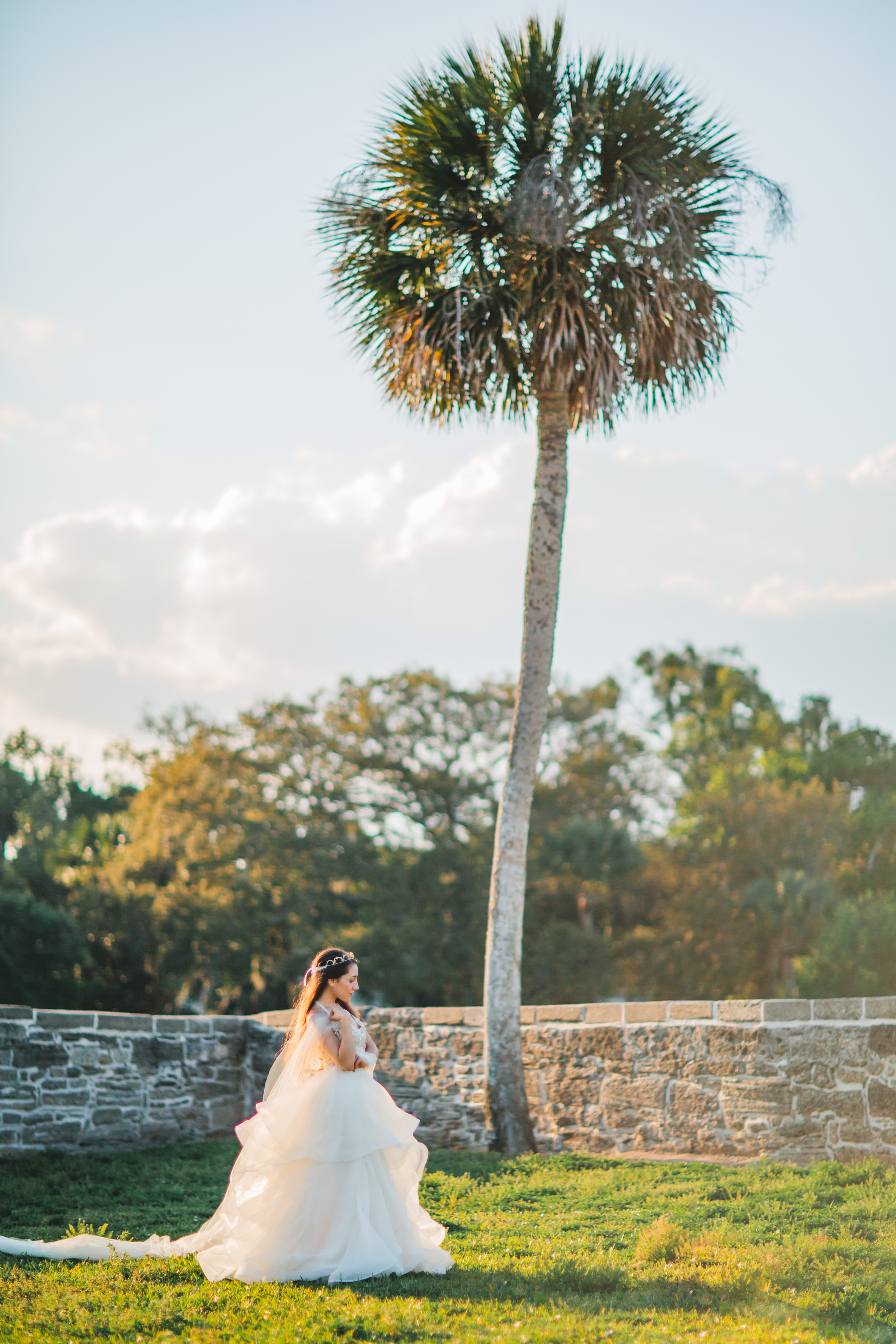 St. Augustine fine art wedding castillo de san marco floral wedding photographer shaina deciryan 53.jpg