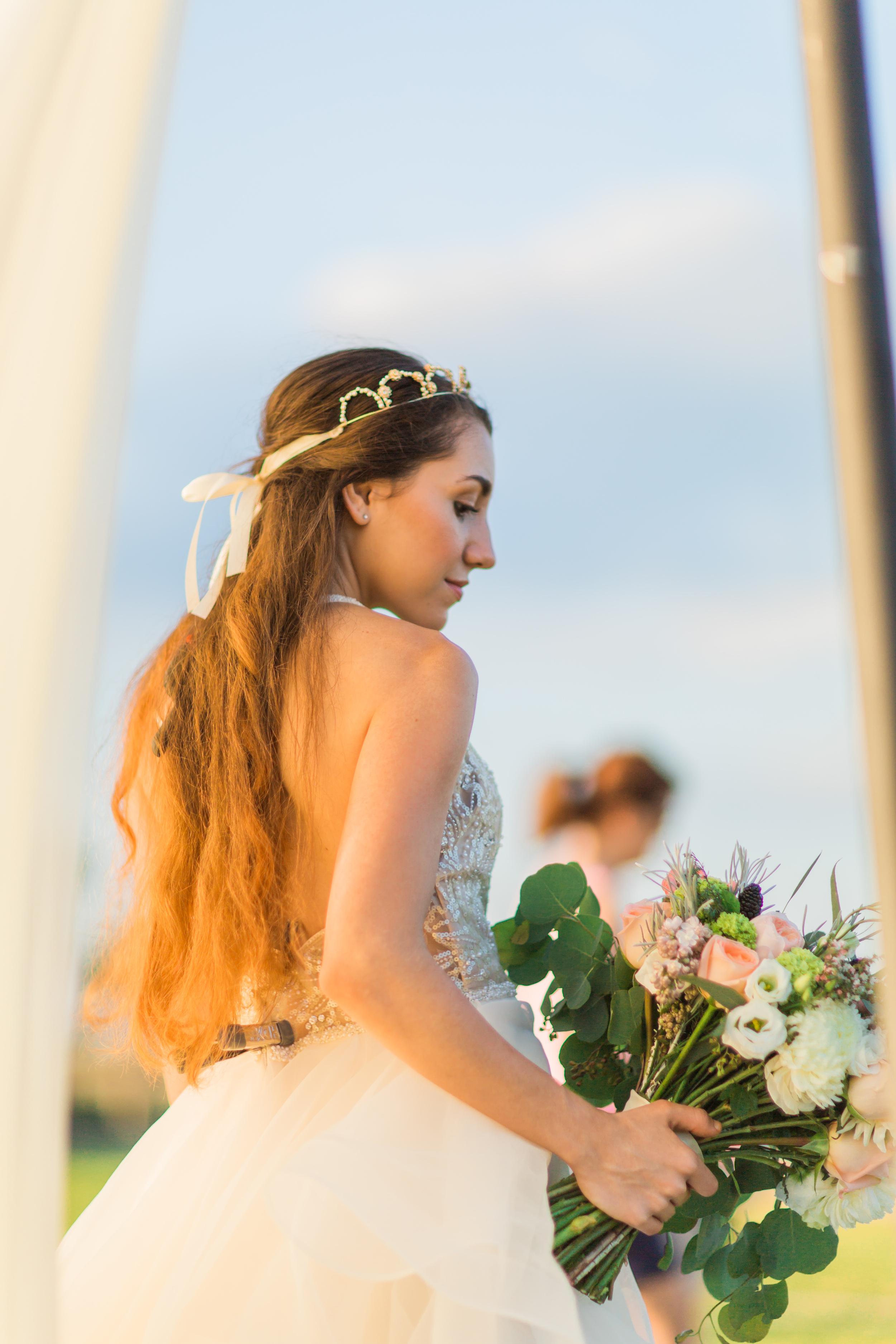 St. Augustine fine art wedding castillo de san marco floral wedding photographer shaina deciryan 57.jpg