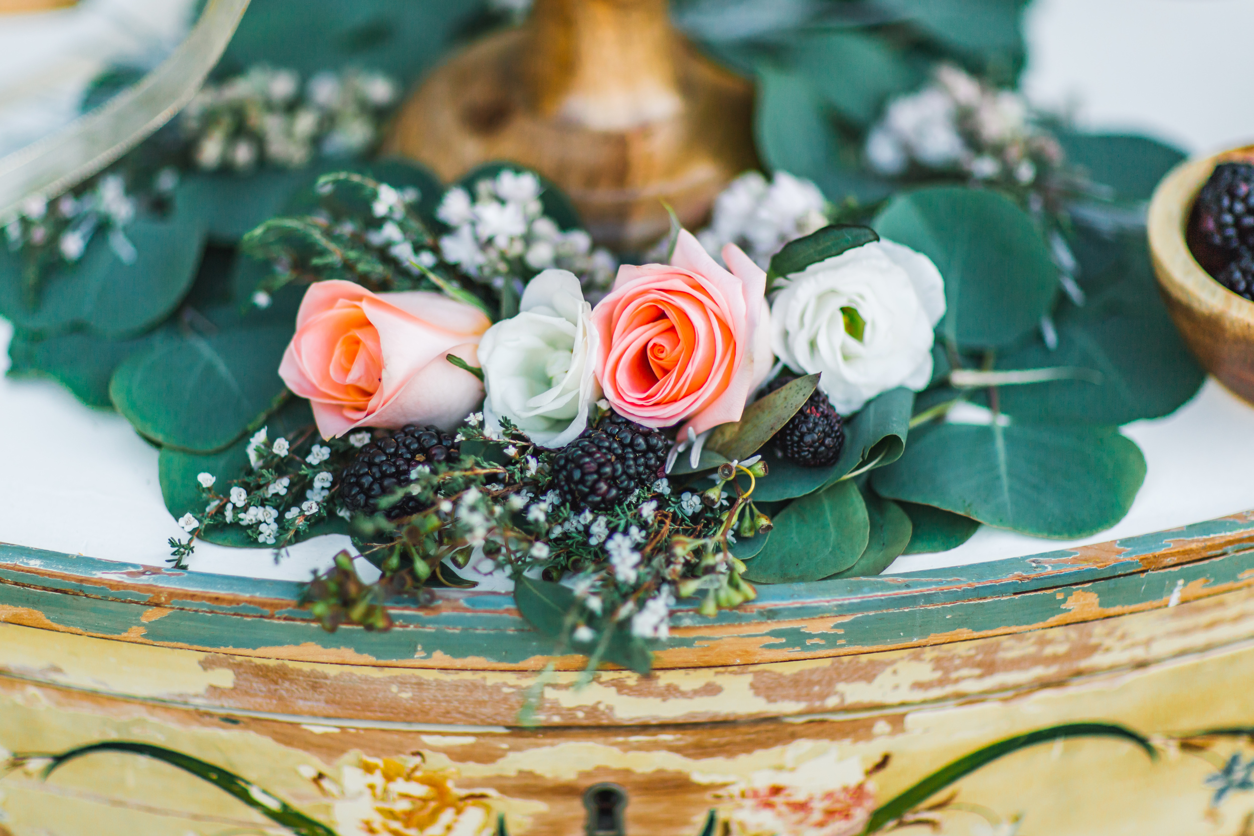 St. Augustine fine art wedding castillo de san marco floral wedding photographer shaina deciryan 65.jpg