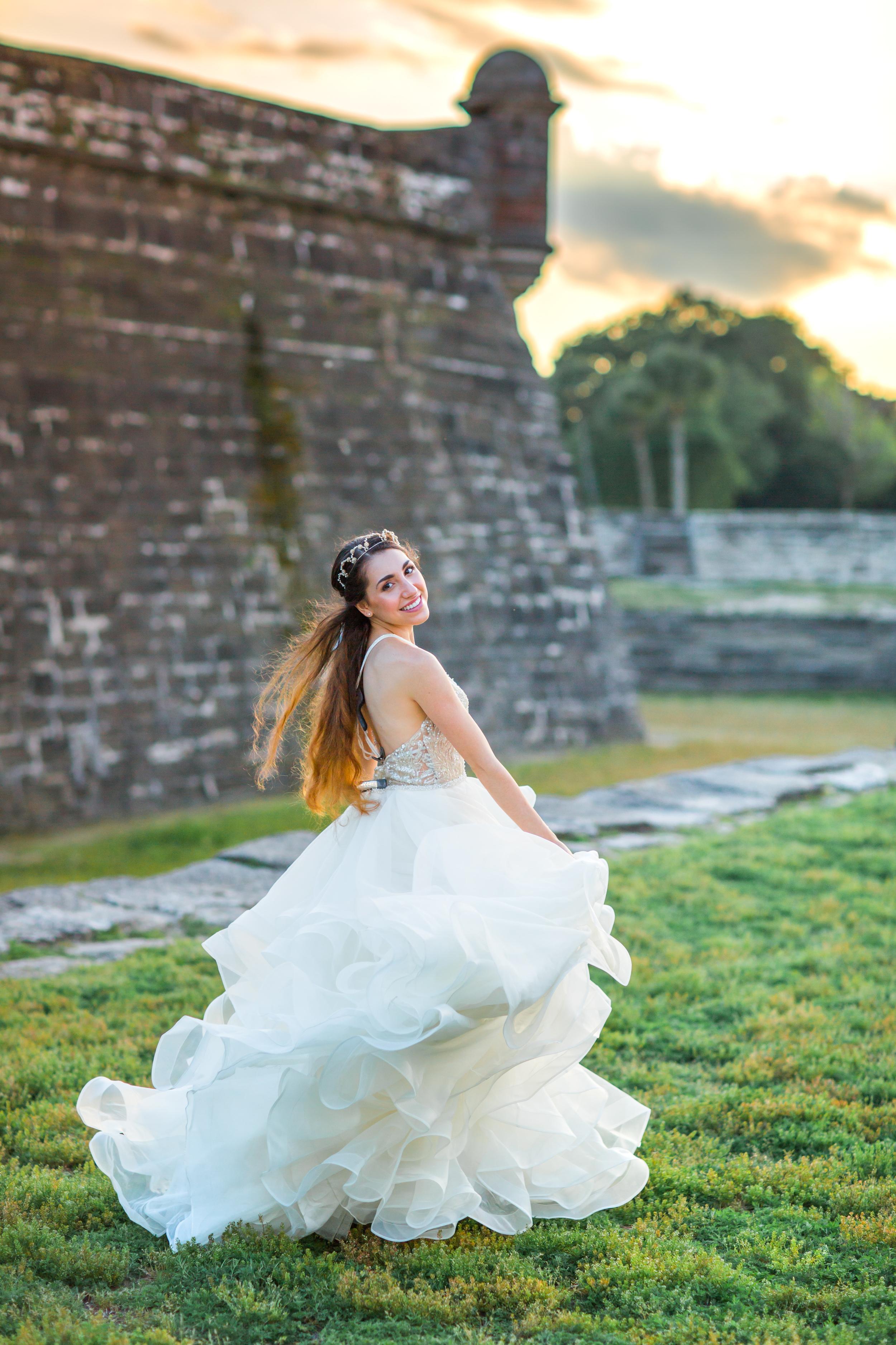 St. Augustine fine art wedding castillo de san marco floral wedding photographer shaina deciryan 72.jpg