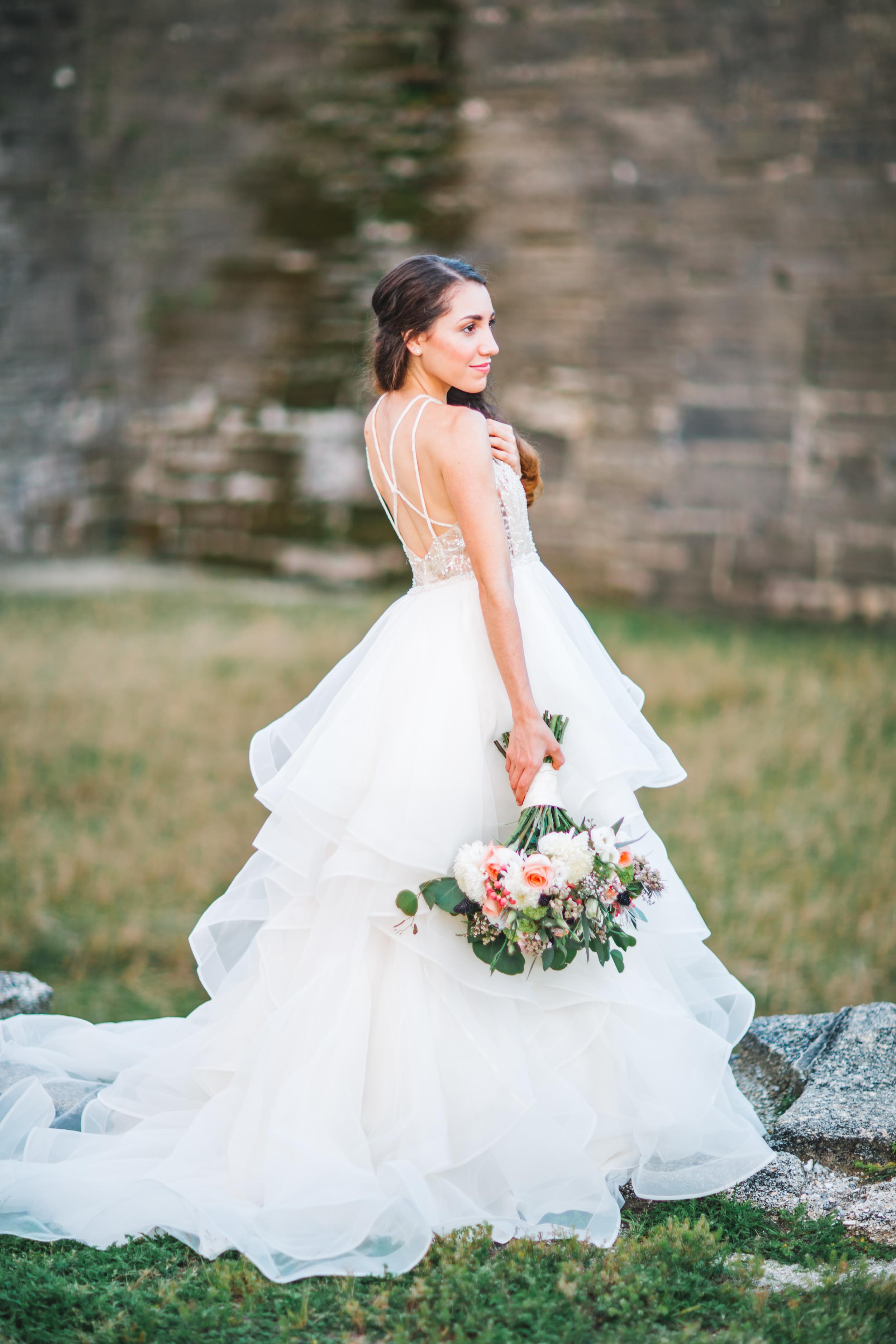 St. Augustine fine art wedding castillo de san marco floral wedding photographer shaina deciryan 98.jpg