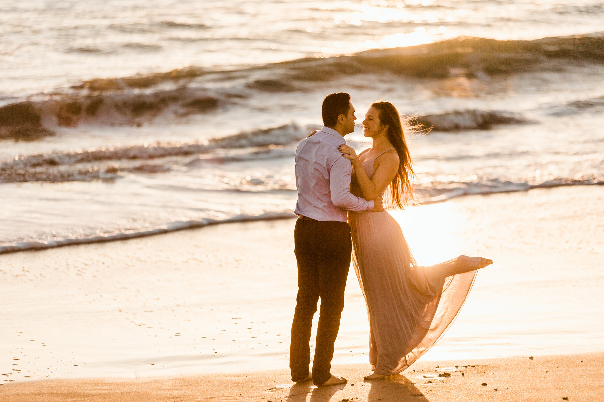 Elya + Andres - Cocoa Beach Engagement - boho bride organic eucalpytus crown mermaid forest2.jpg
