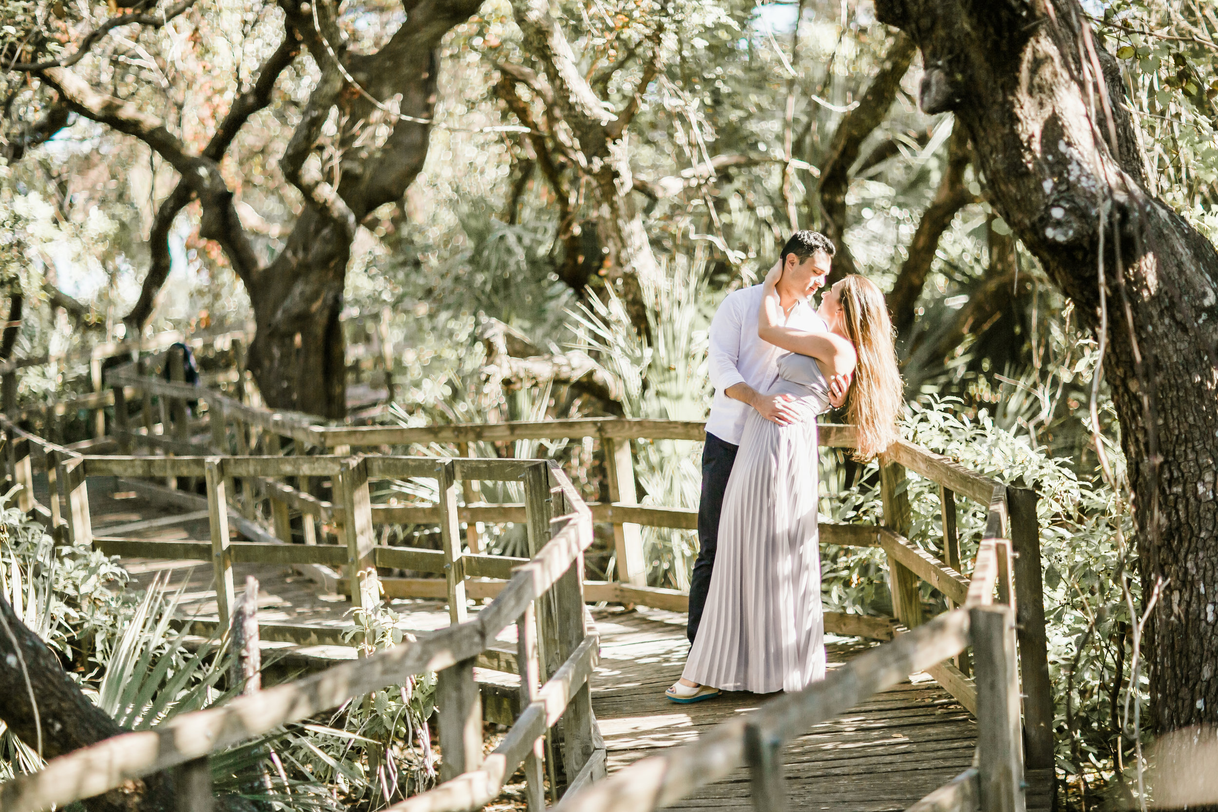 Elya + Andres - Cocoa Beach Engagement - boho bride organic eucalpytus crown mermaid forest14.jpg