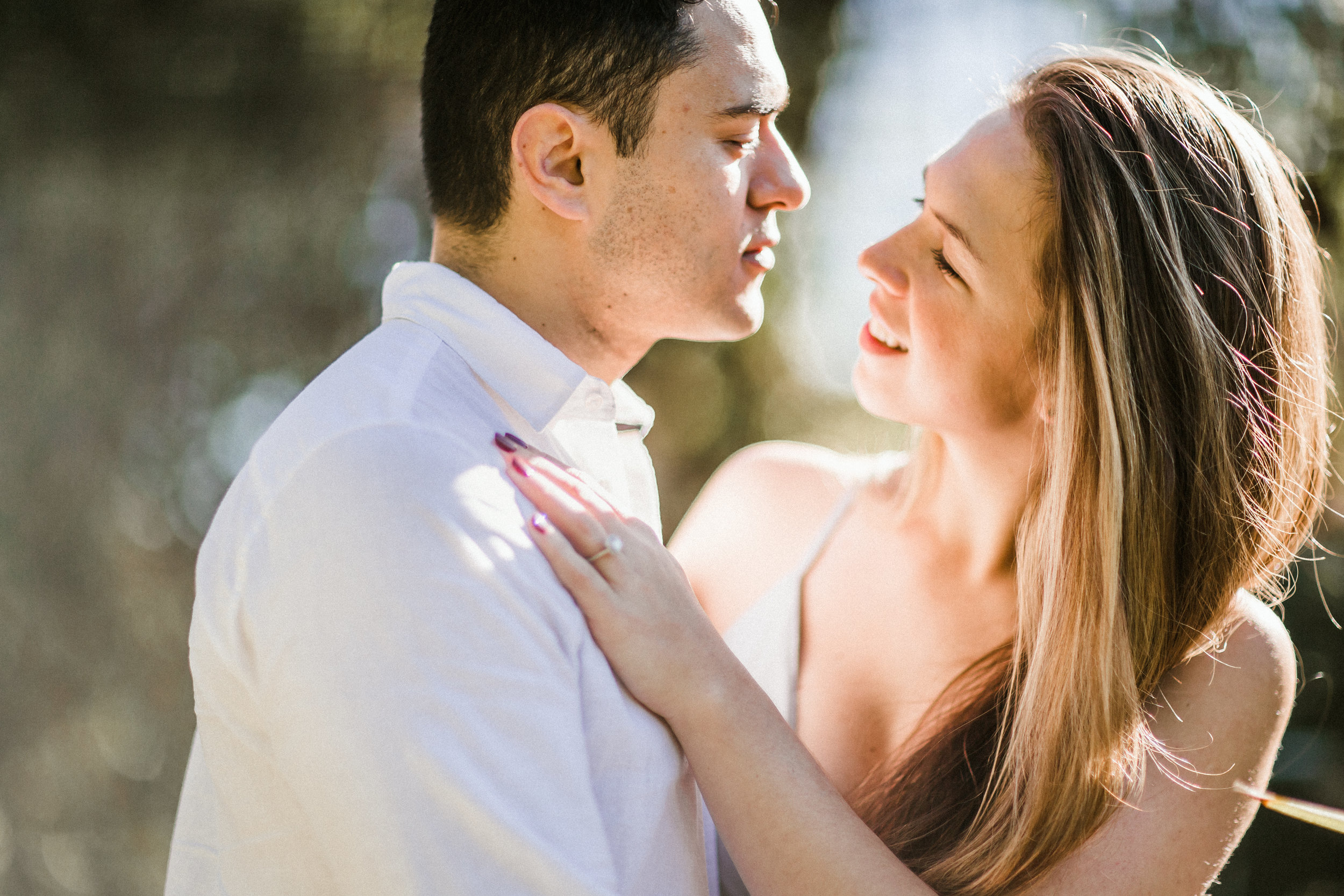 Elya + Andres - Cocoa Beach Engagement - boho bride organic eucalpytus crown mermaid forest17.jpg