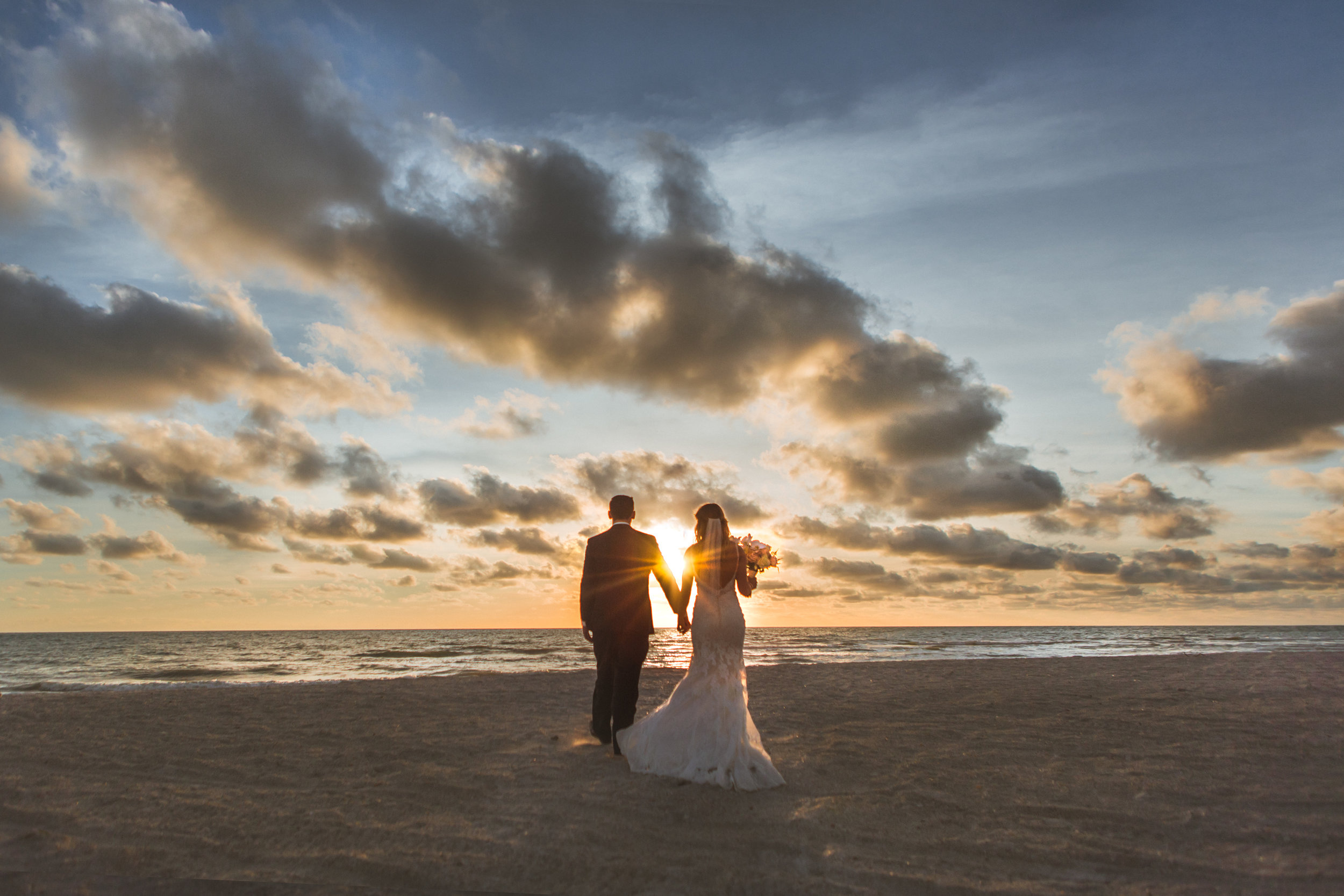 2. Bride+Groom - Brett + Bobby Longboat Key Beach Wedding 87.jpg