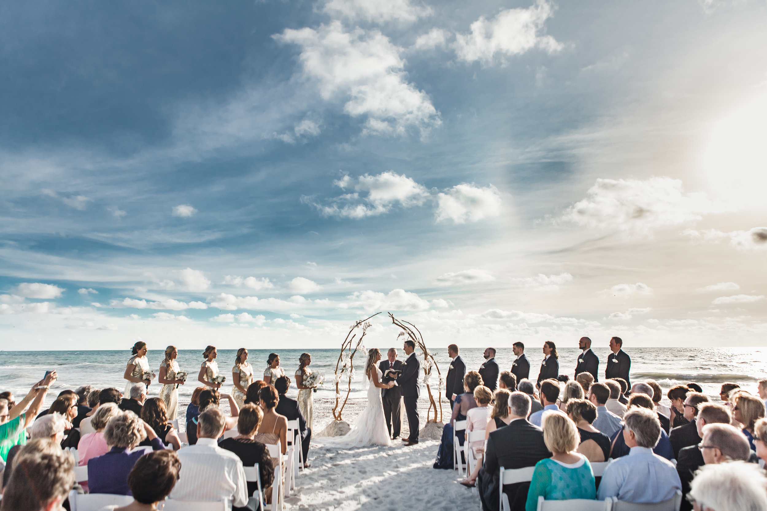 5. Ceremony - Brett + Bobby Longboat Key Beach Wedding 130.jpg