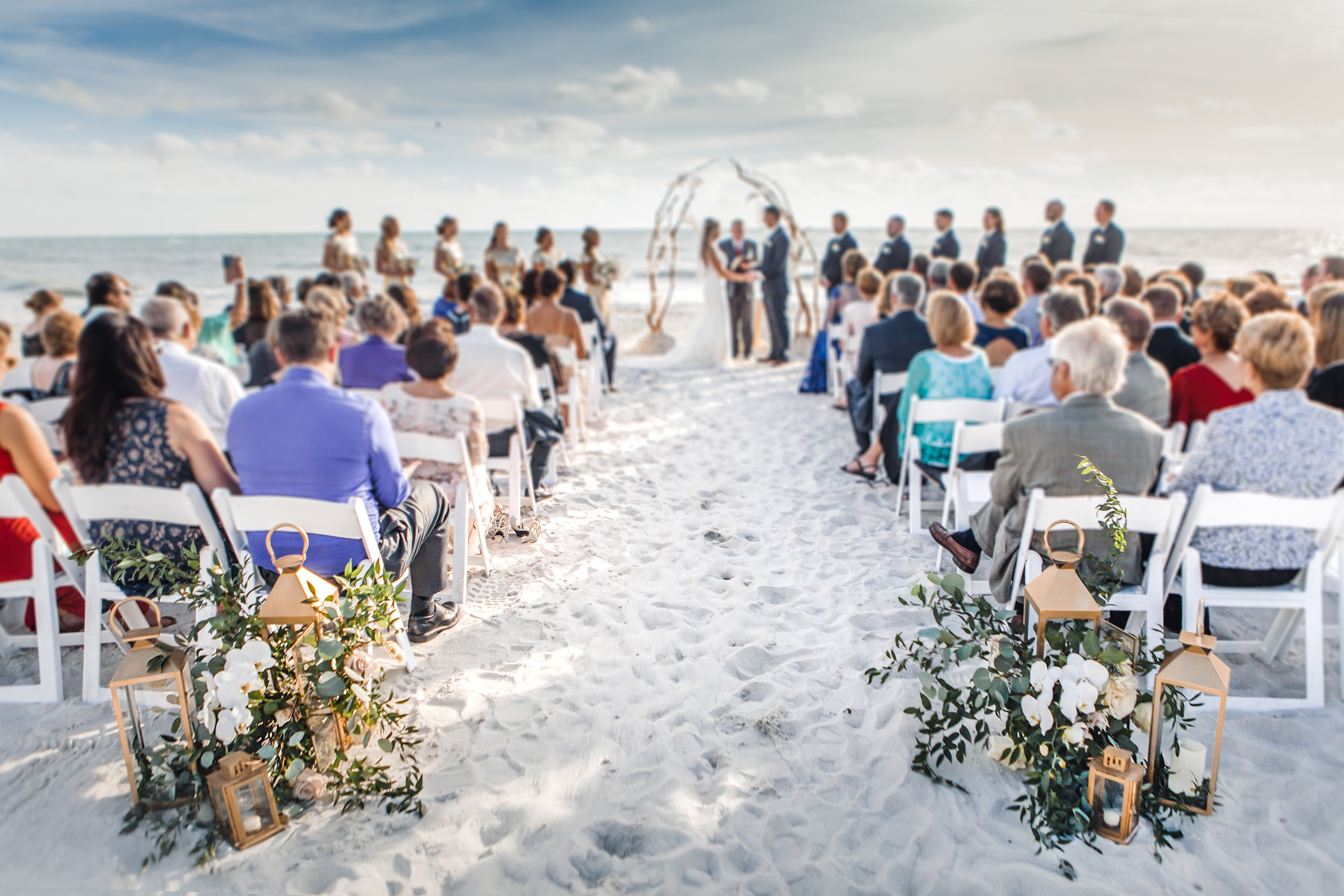 5. Ceremony - Brett + Bobby Longboat Key Beach Wedding 133.jpg