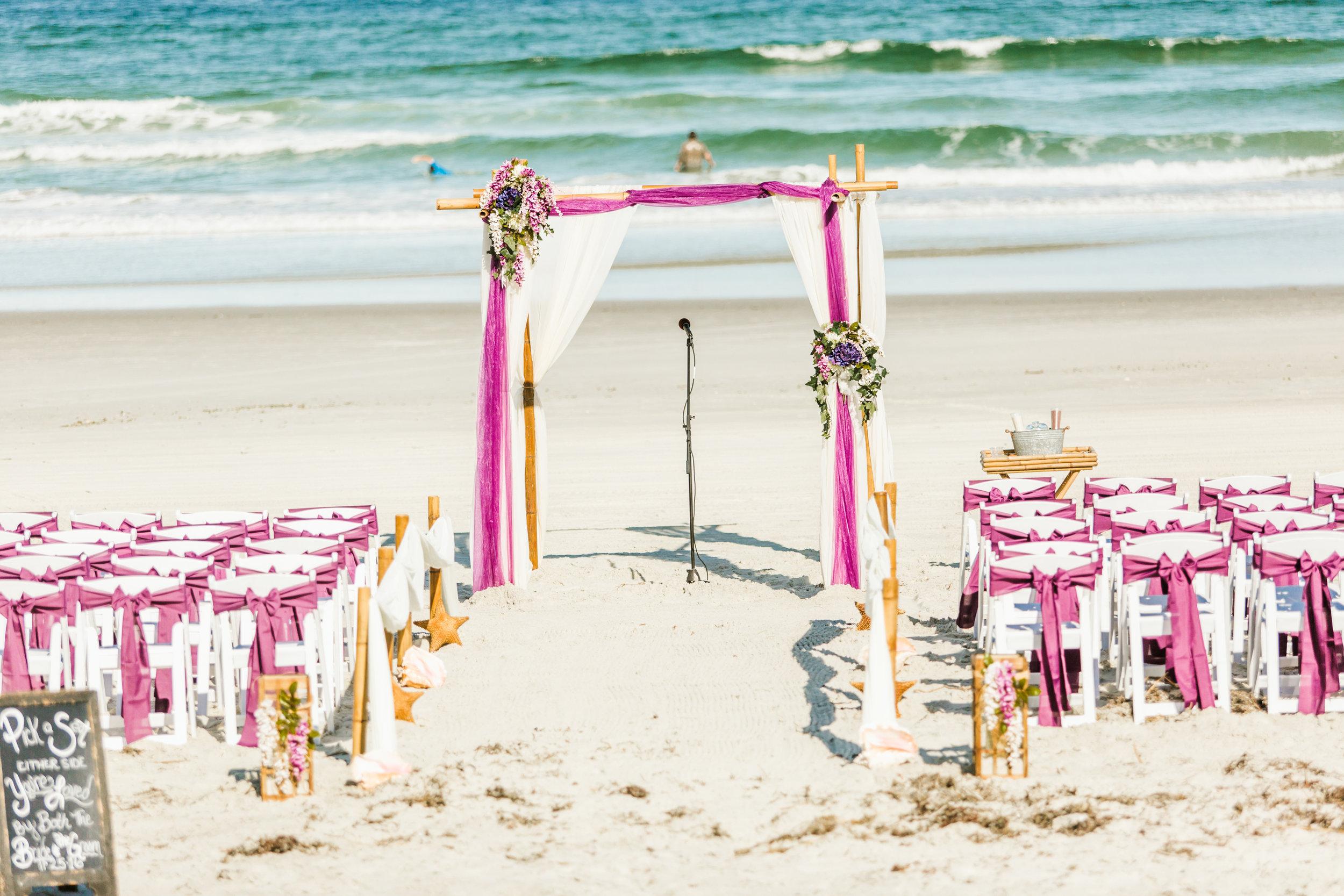 Violets & Seastars- November Ponce Inlet Wedding - Suzette & Dwight 1.jpg