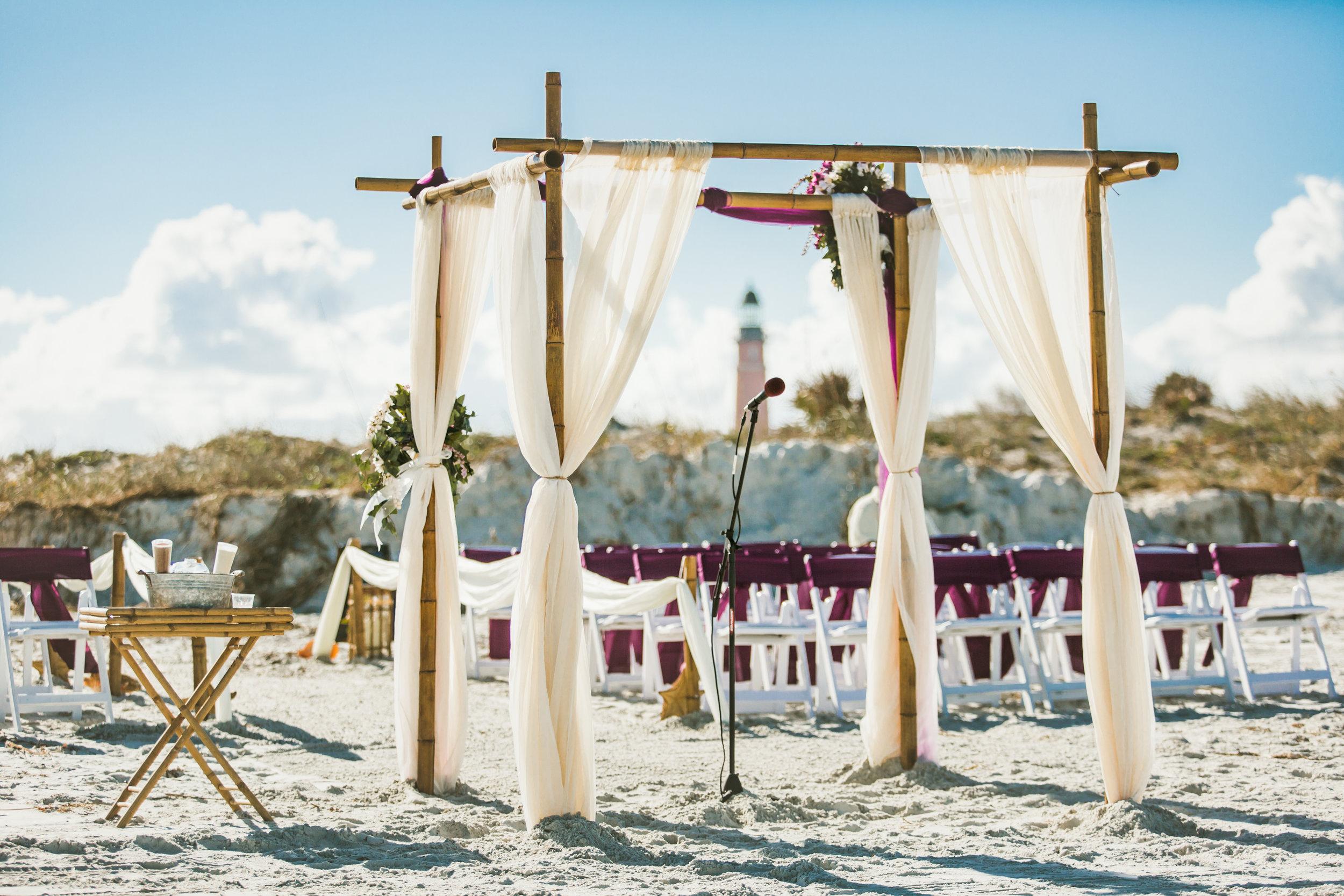 Violets & Seastars- November Ponce Inlet Wedding - Suzette & Dwight 5.jpg