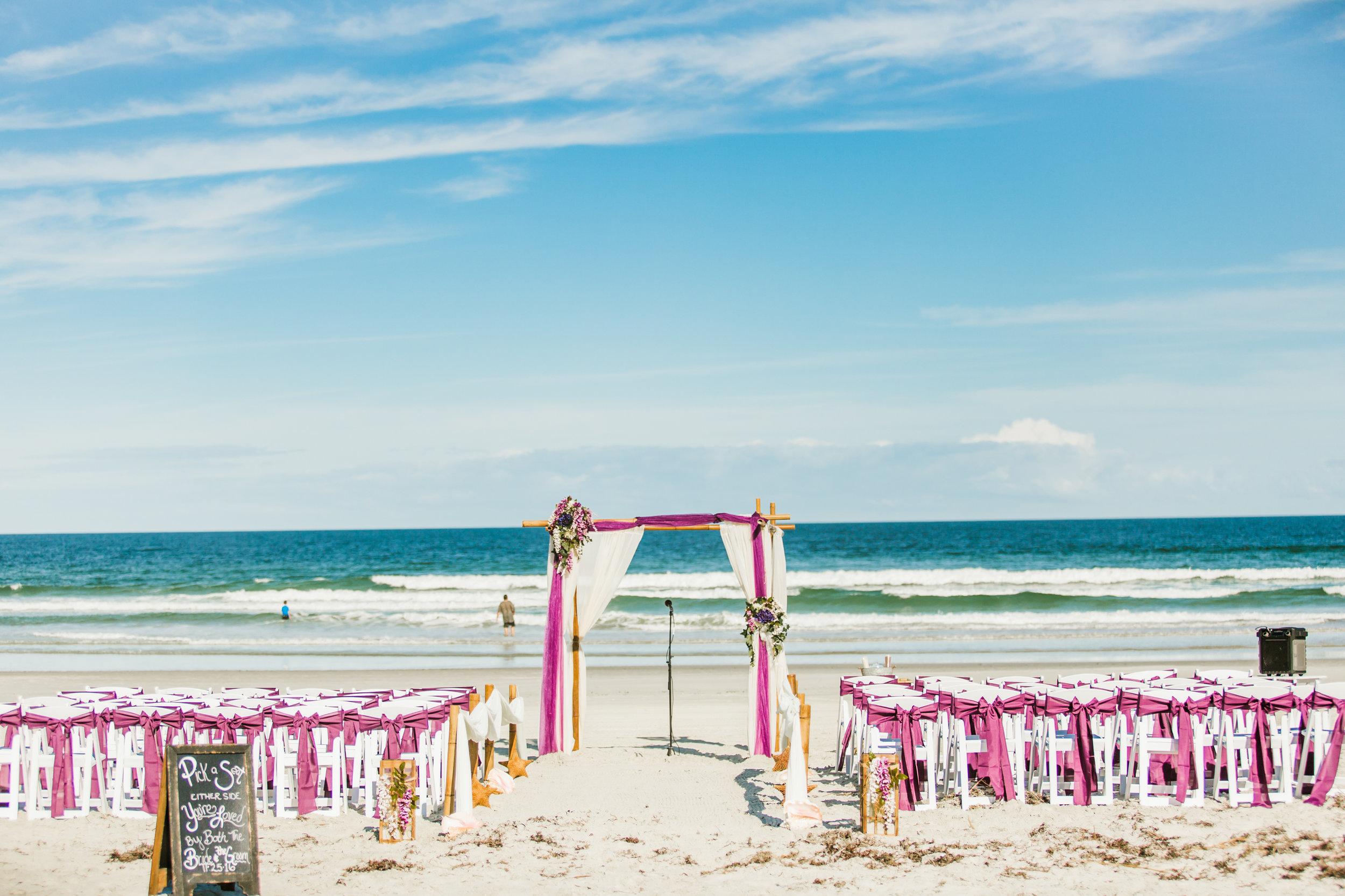 Violets & Seastars- November Ponce Inlet Wedding - Suzette & Dwight 8.jpg