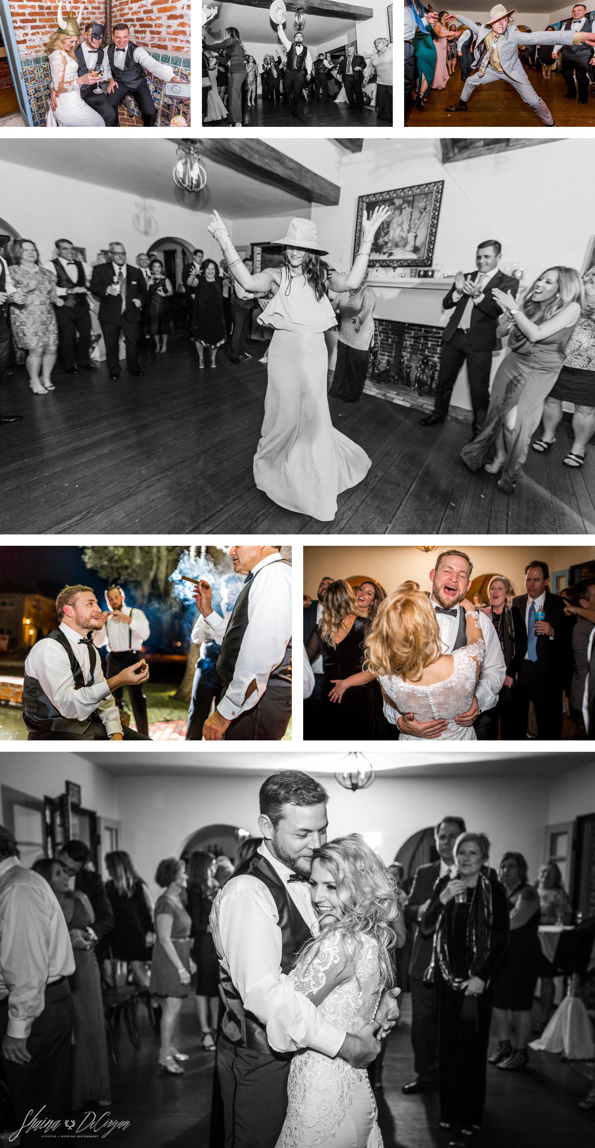 Retro Hollywood Glam Casa Feliz Wedding