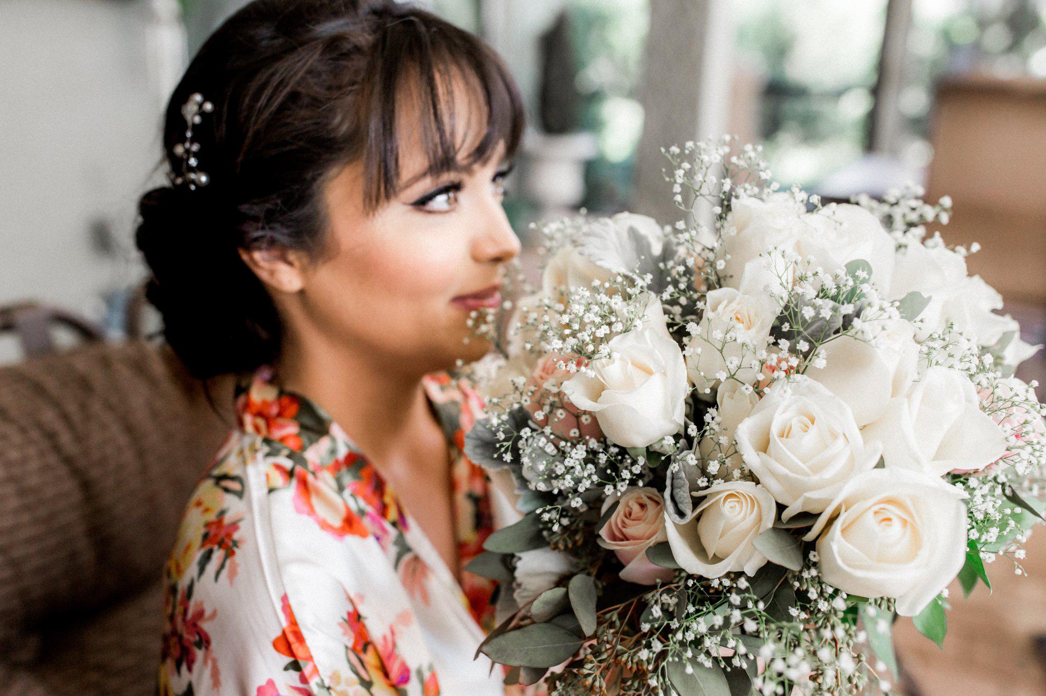 Romantic Secret Garden Navy + Pink Wedding with Harpist- Kraft Azalea Gardens - The Alzates 10.jpg