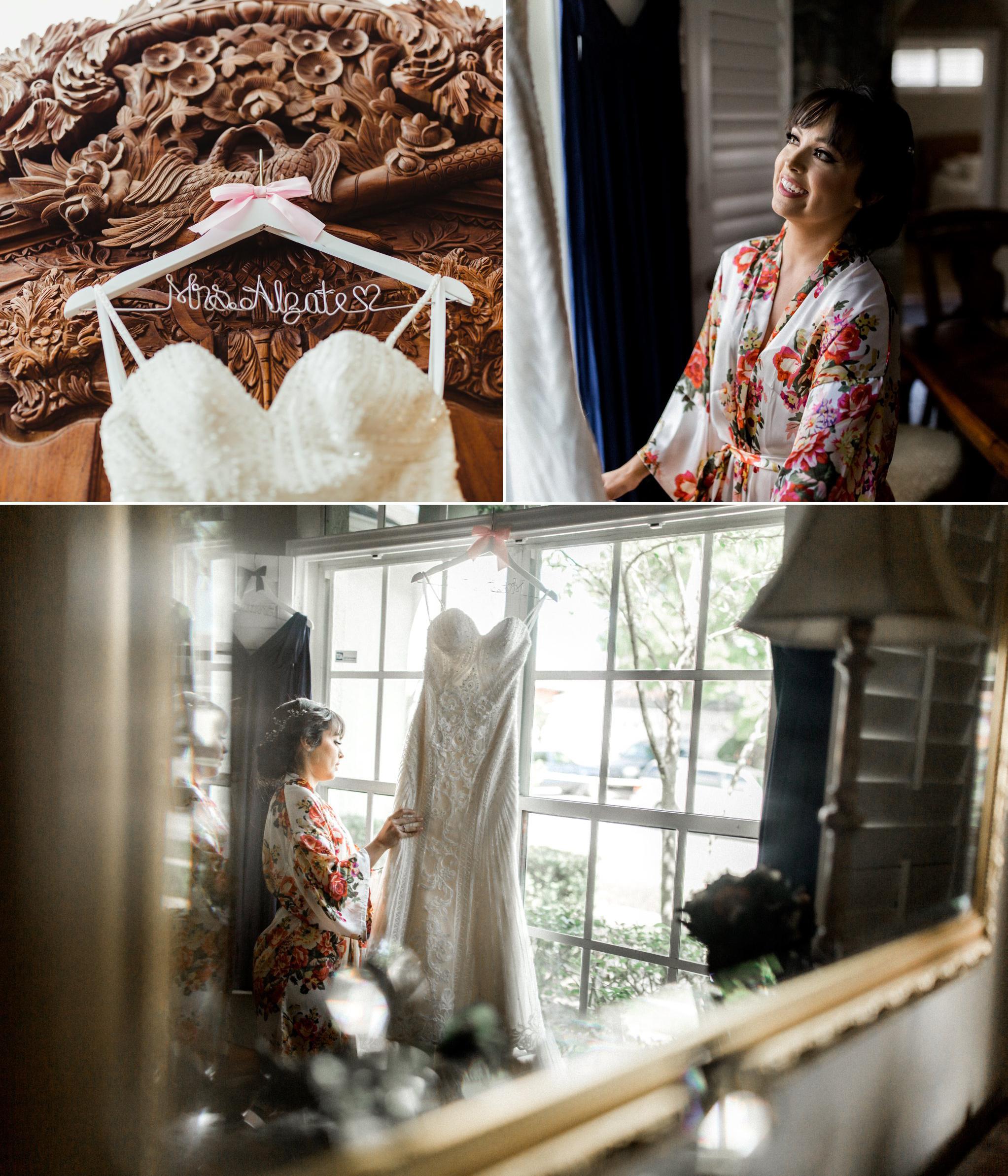 Romantic Secret Garden Navy + Pink Wedding with Harpist- Kraft Azalea Gardens - The Alzates 9.jpg