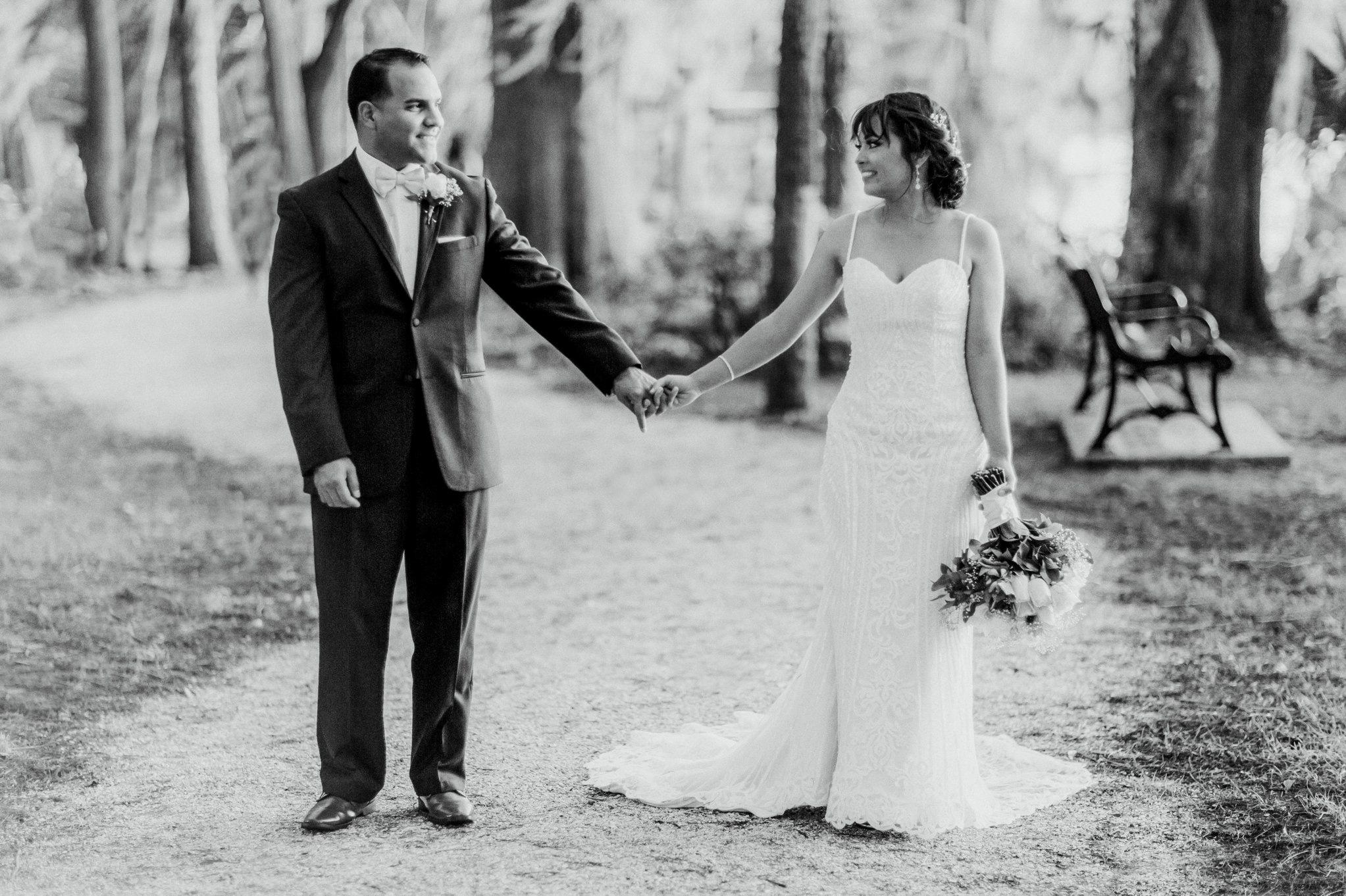 Romantic Secret Garden Navy + Pink Wedding with Harpist- Kraft Azalea Gardens - The Alzates 53.jpg