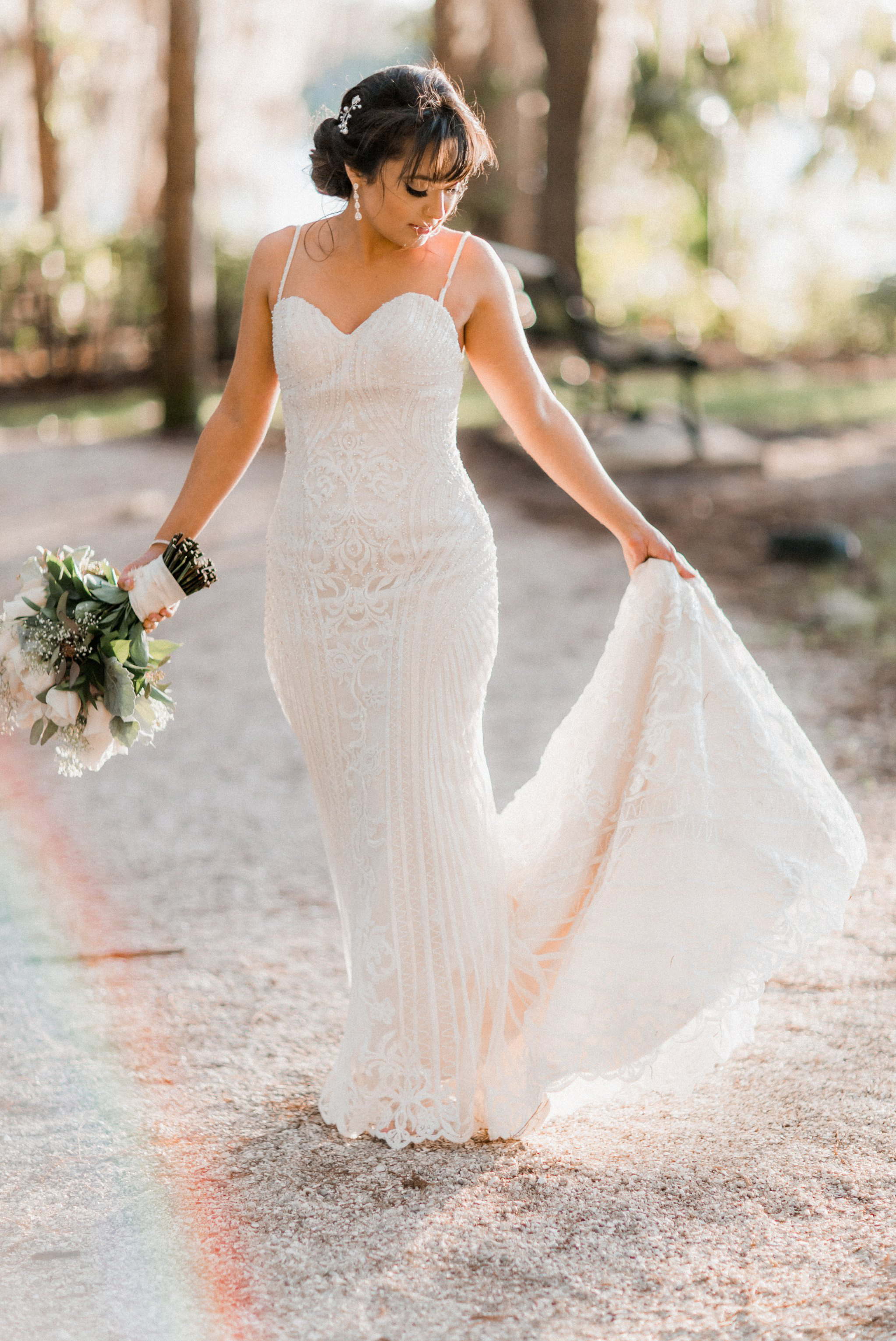 Romantic Secret Garden Navy + Pink Wedding with Harpist- Kraft Azalea Gardens - The Alzates 57.jpg