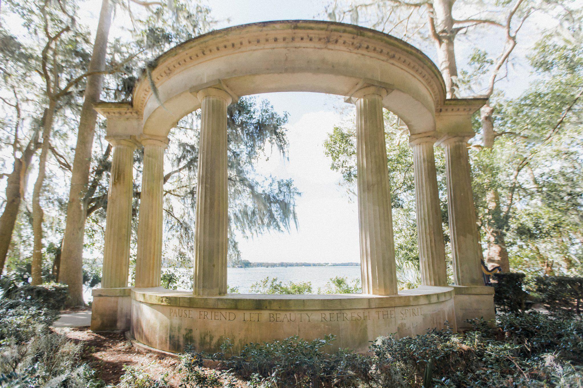Romantic Secret Garden Navy + Pink Wedding with Harpist- Kraft Azalea Gardens - The Alzates 23.jpg