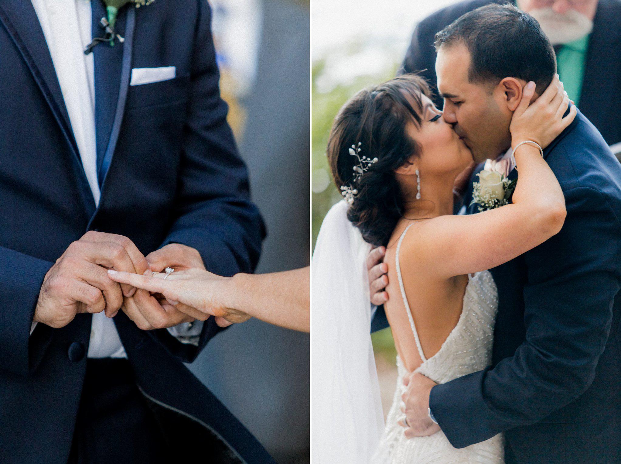 Romantic Secret Garden Navy + Pink Wedding with Harpist- Kraft Azalea Gardens - The Alzates 40.jpg