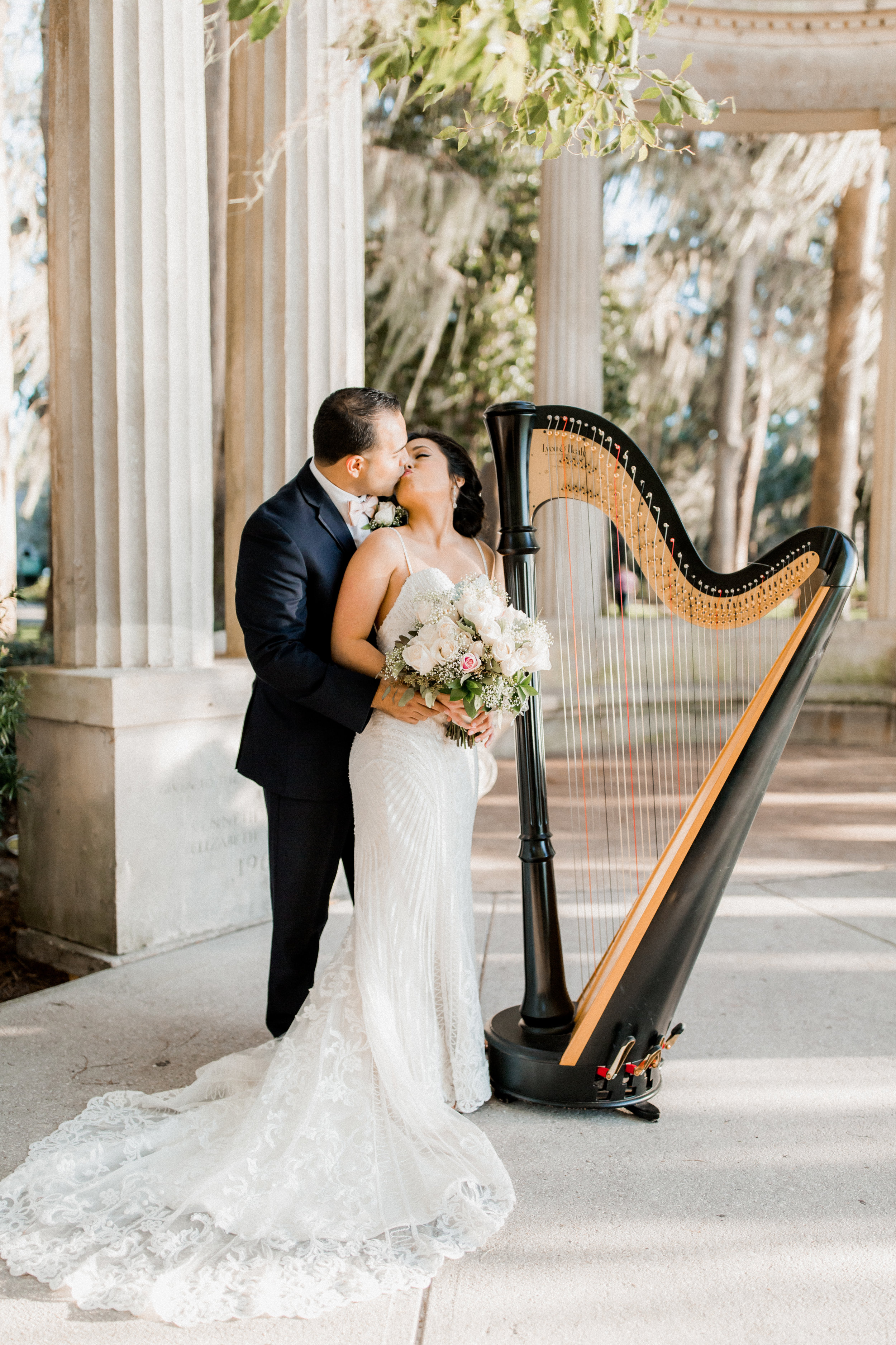 4. Bride + Groom - Kraft Azalea Garden Wedding of Alexandra + Anthony 22.jpg