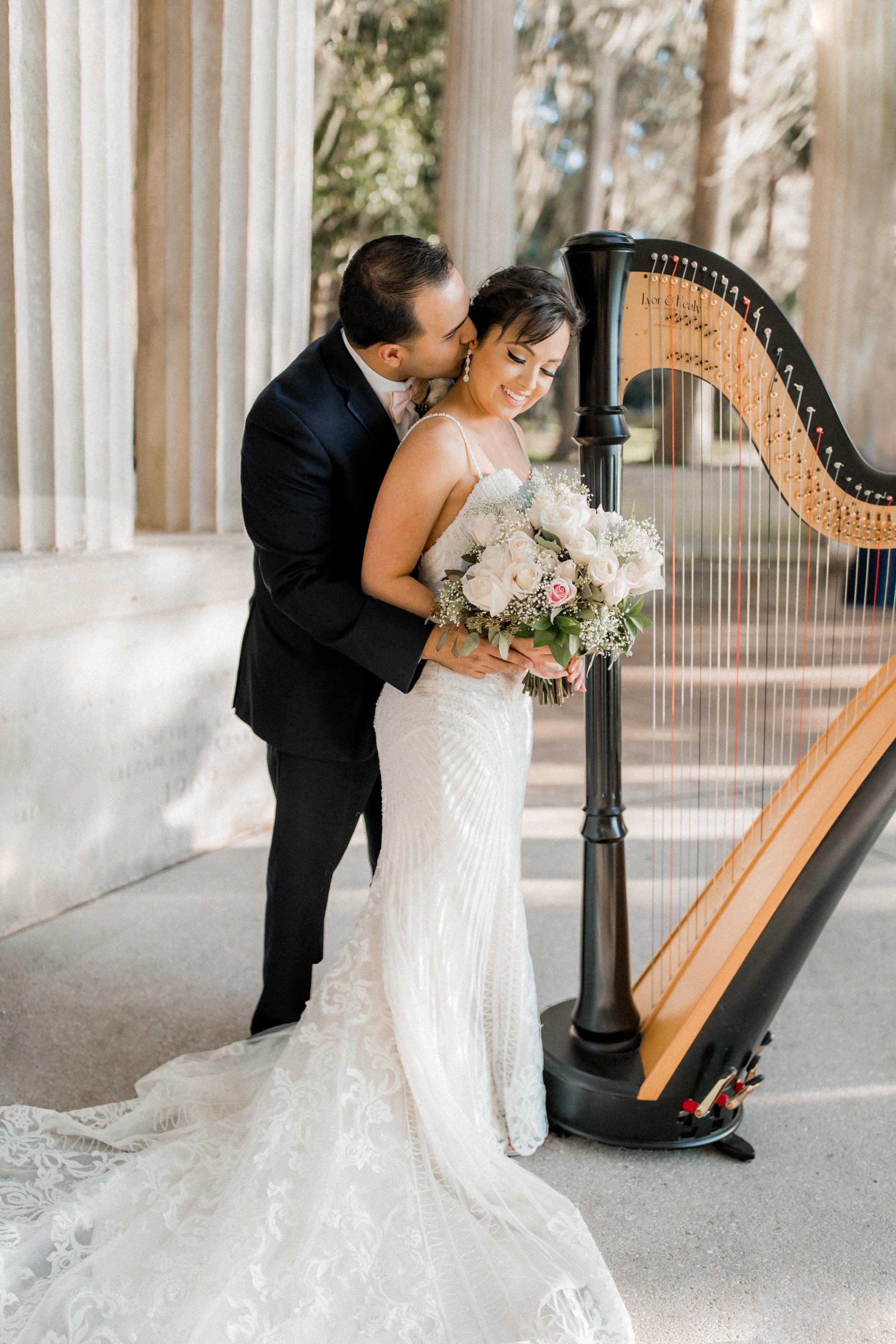 4. Bride + Groom - Kraft Azalea Garden Wedding of Alexandra + Anthony 15.jpg