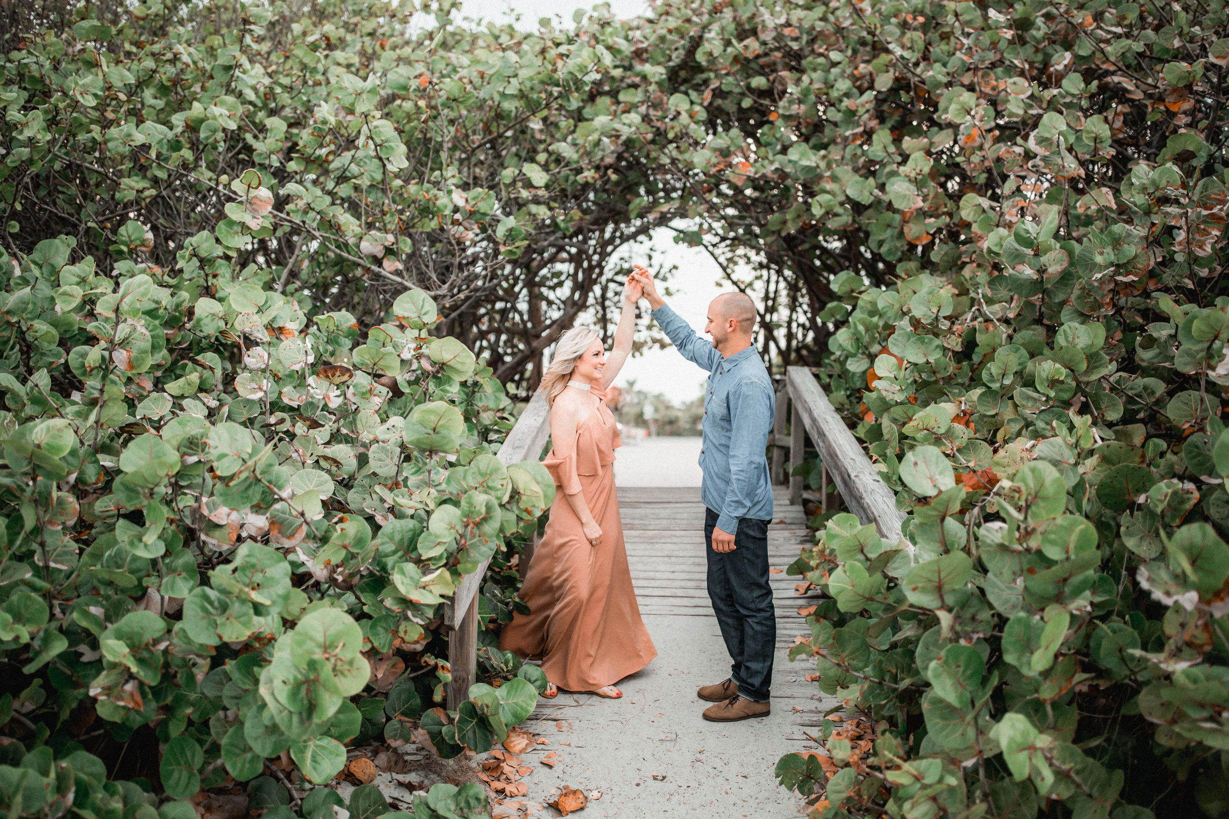 Cocoa Beach Adventure Engagement Session - Tommy + Courtney 9.jpg
