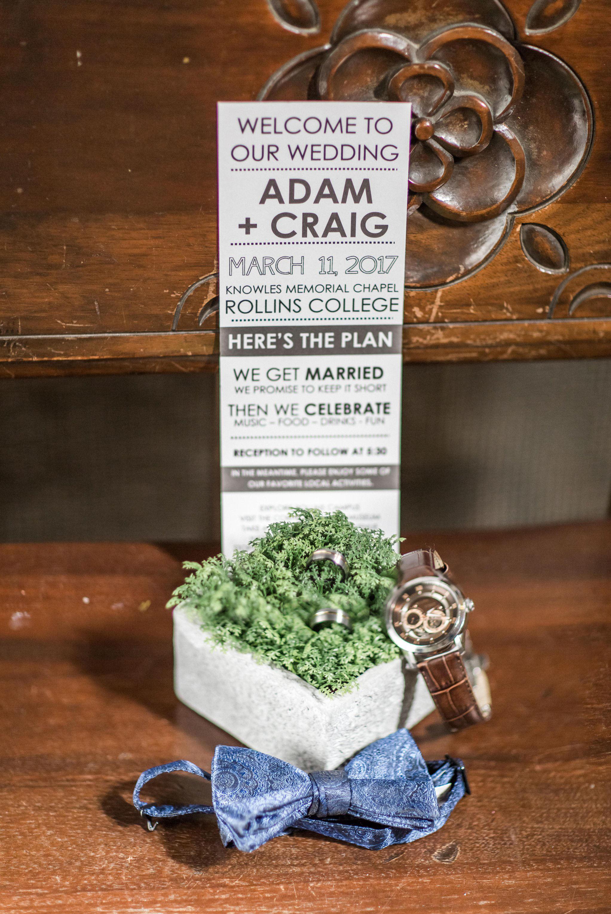 Rollins Chapel + Orlando Science Center Gay LGBT Dinosaur Themed Wedding Adam + Craig 8.jpg
