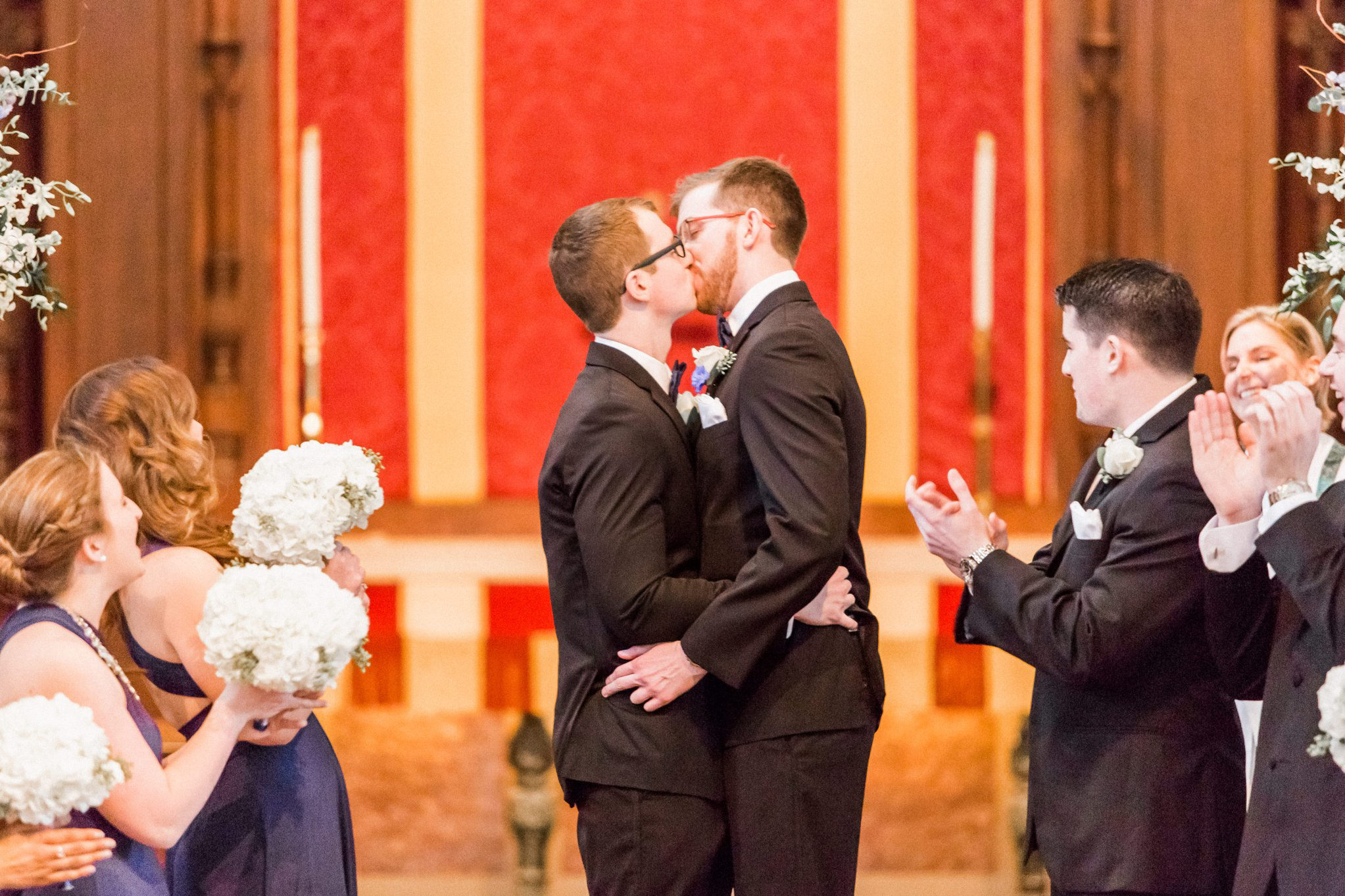 Rollins Chapel + Orlando Science Center Gay LGBT Dinosaur Themed Wedding Adam + Craig 24.jpg