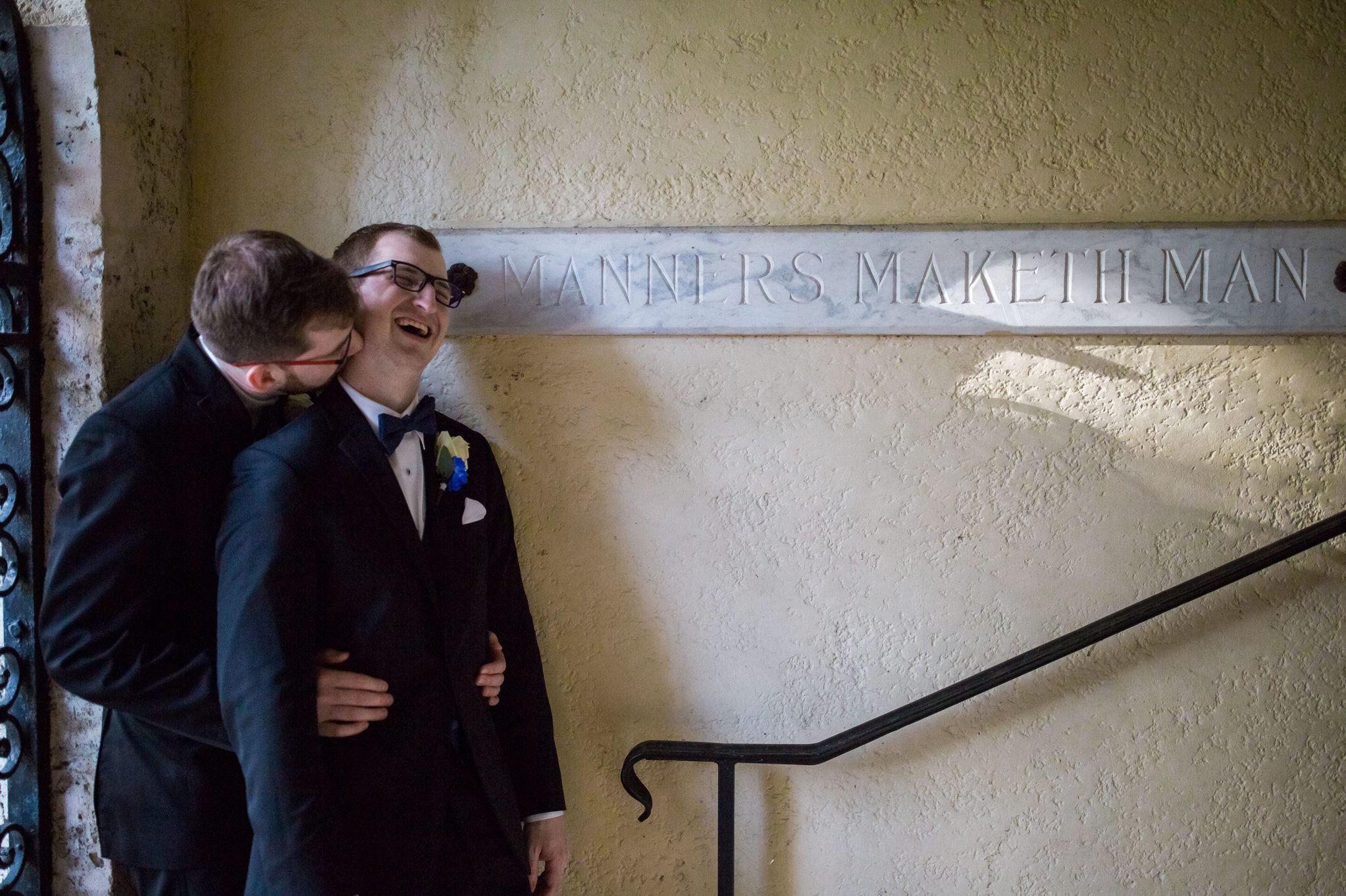 Rollins Chapel + Orlando Science Center Gay LGBT Dinosaur Themed Wedding Adam + Craig 33.jpg