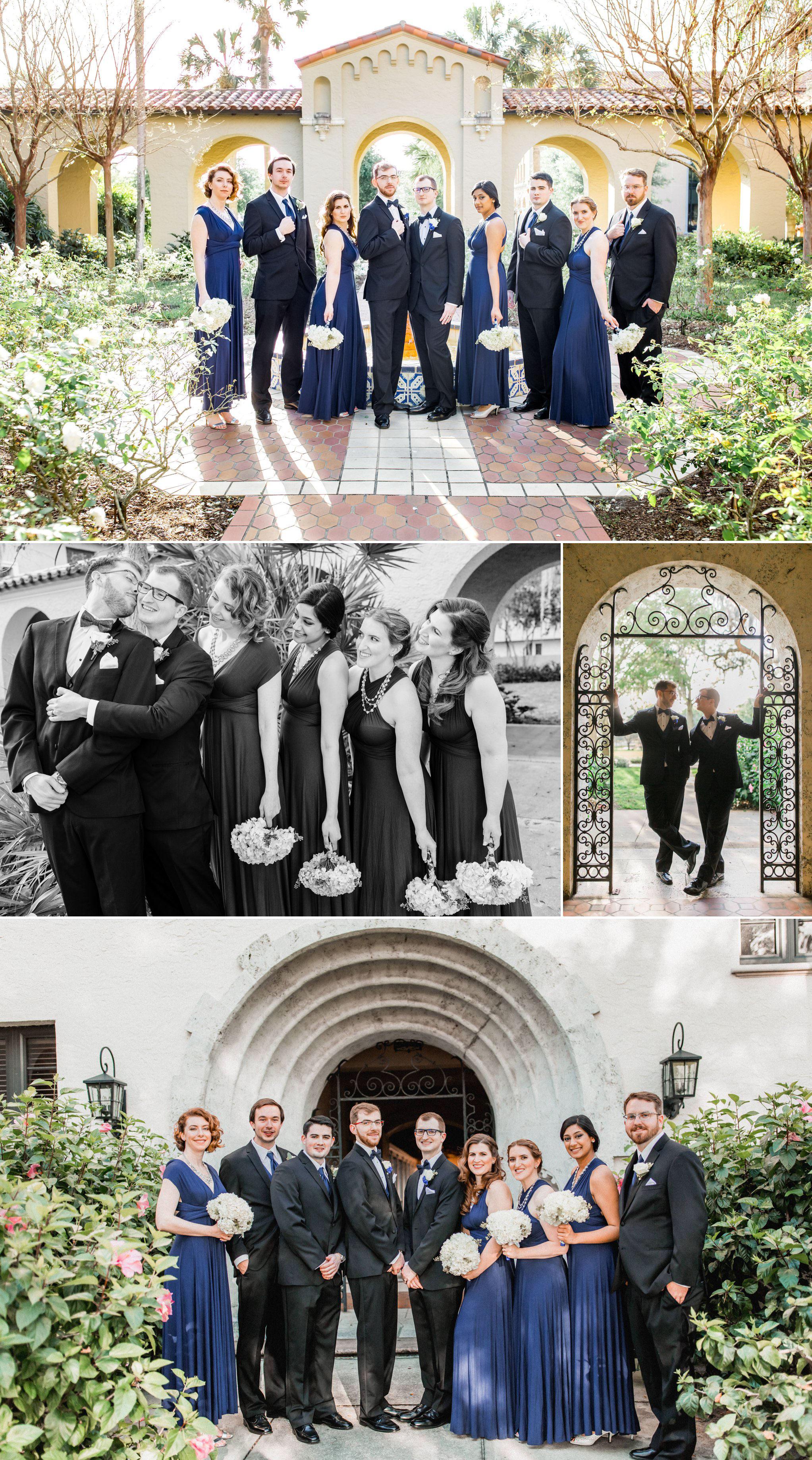 Rollins Chapel + Orlando Science Center Gay LGBT Dinosaur Themed Wedding Adam + Craig 30.jpg