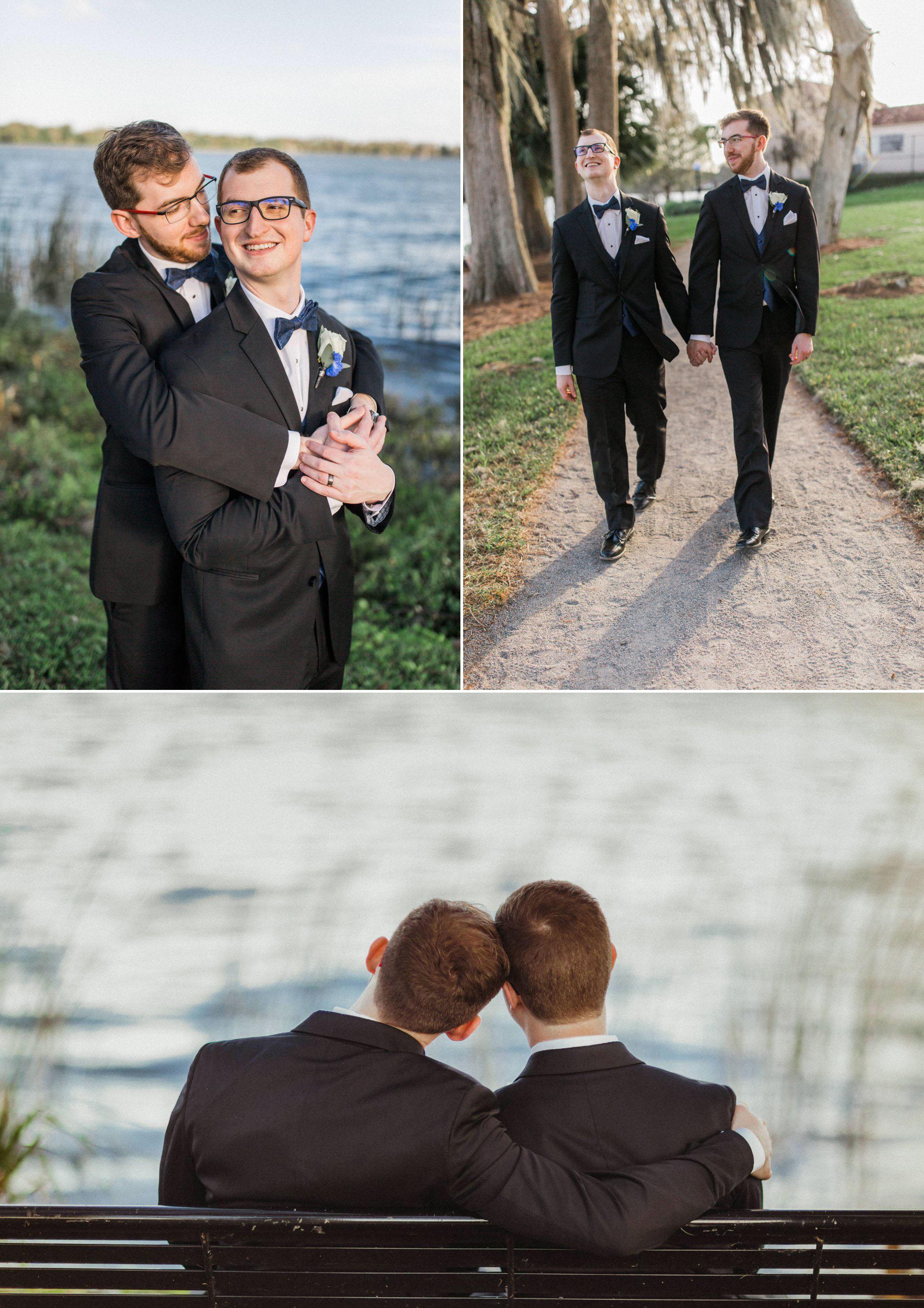 Rollins Chapel + Orlando Science Center Gay LGBT Dinosaur Themed Wedding Adam + Craig 34.jpg