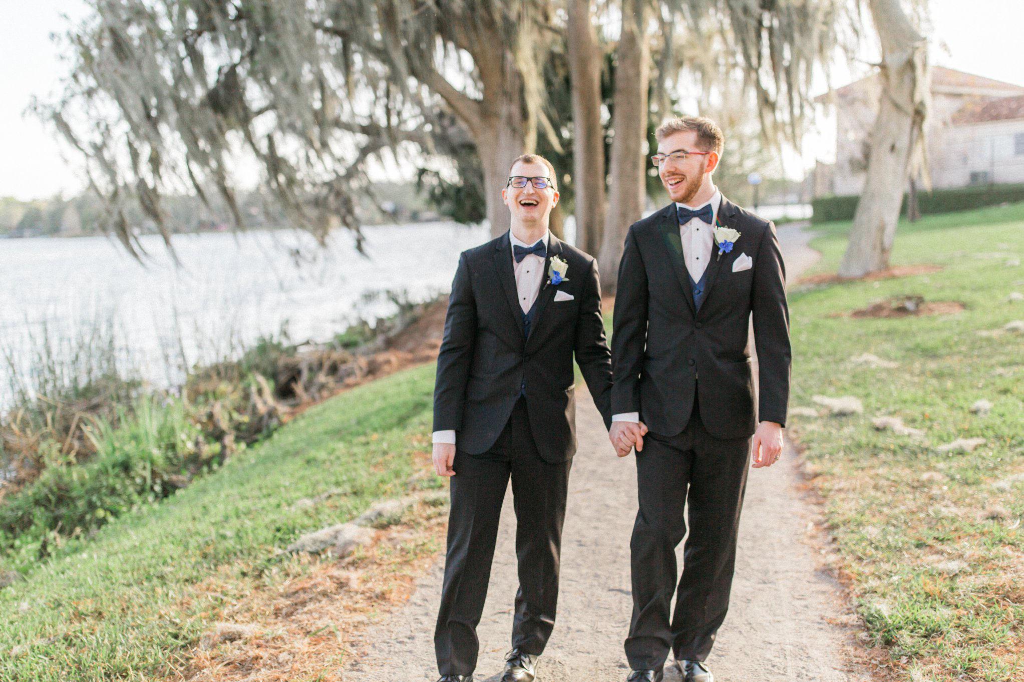 Rollins Chapel + Orlando Science Center Gay LGBT Dinosaur Themed Wedding Adam + Craig 37.jpg