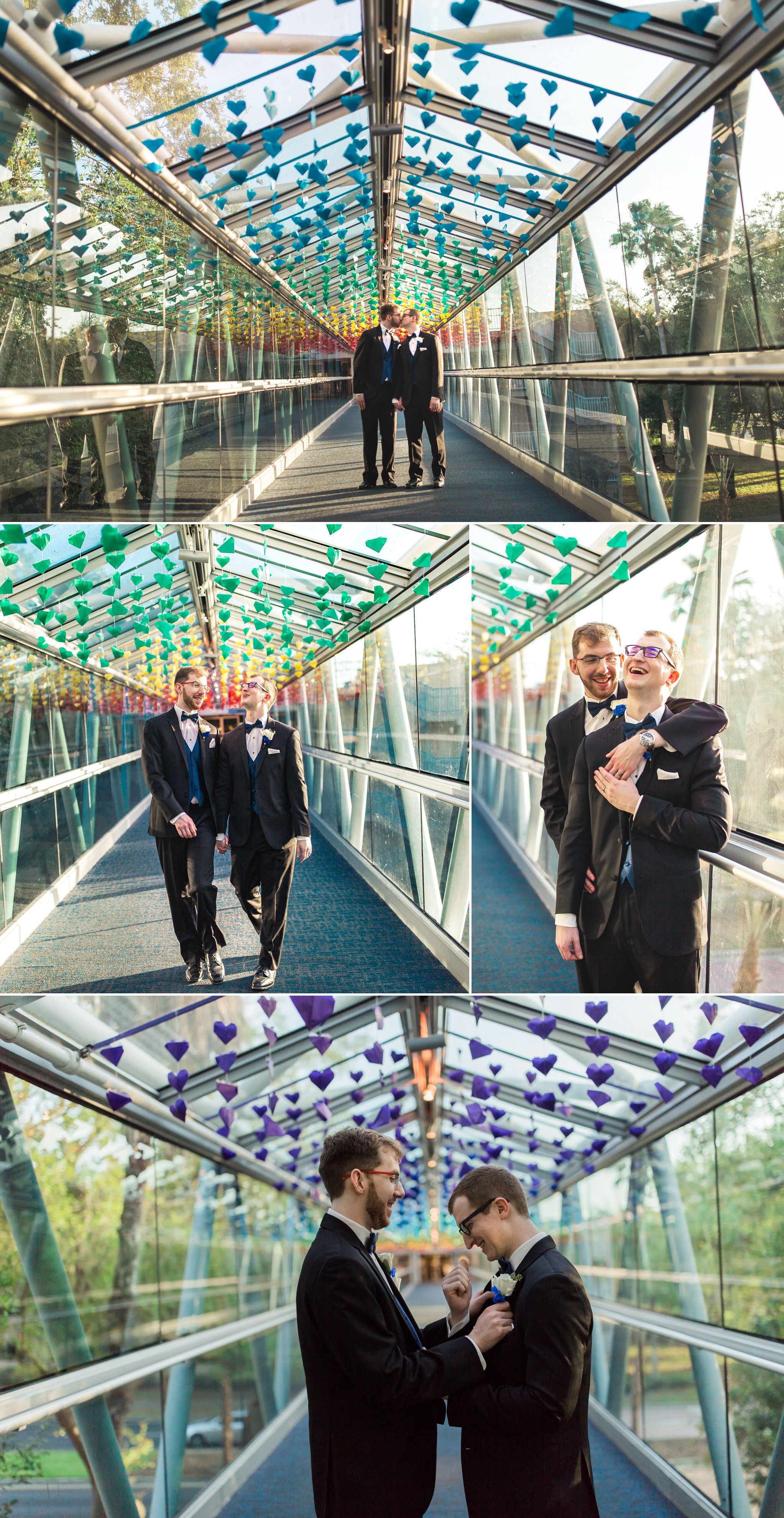 Rollins Chapel + Orlando Science Center Gay LGBT Dinosaur Themed Wedding Adam + Craig 40.jpg
