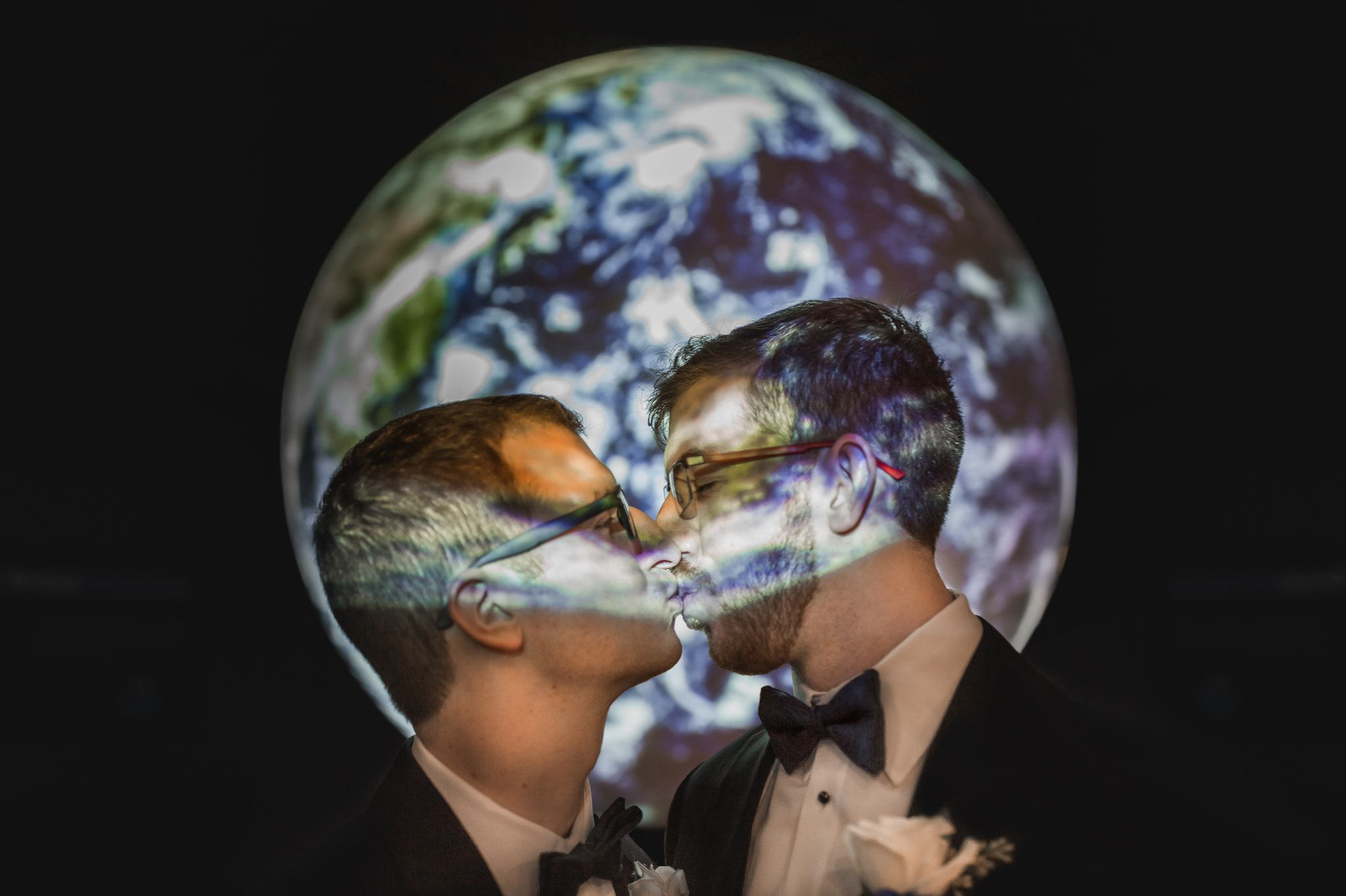 Rollins Chapel + Orlando Science Center Gay LGBT Dinosaur Themed Wedding Adam + Craig 47.jpg