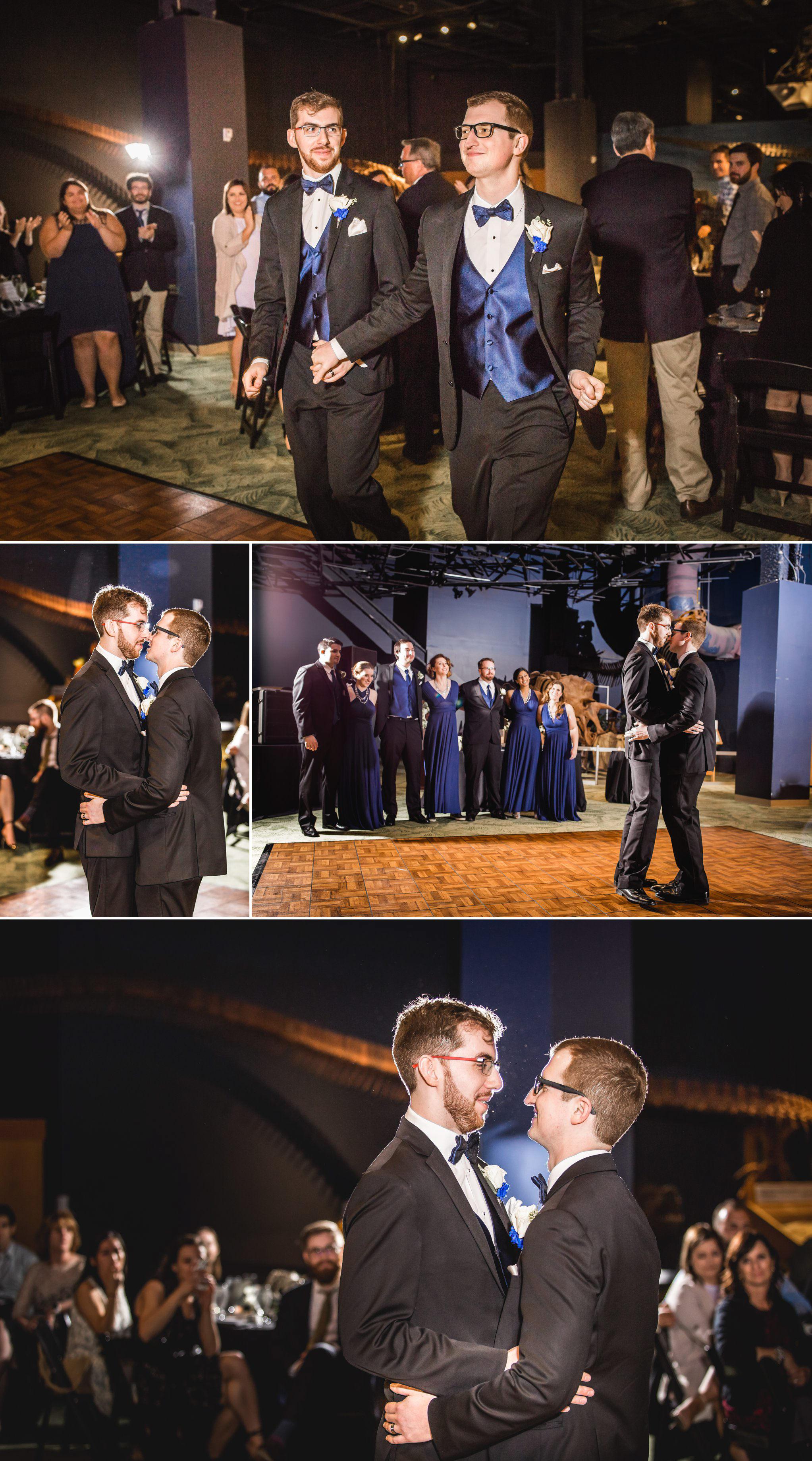 Rollins Chapel + Orlando Science Center Gay LGBT Dinosaur Themed Wedding Adam + Craig 54.jpg