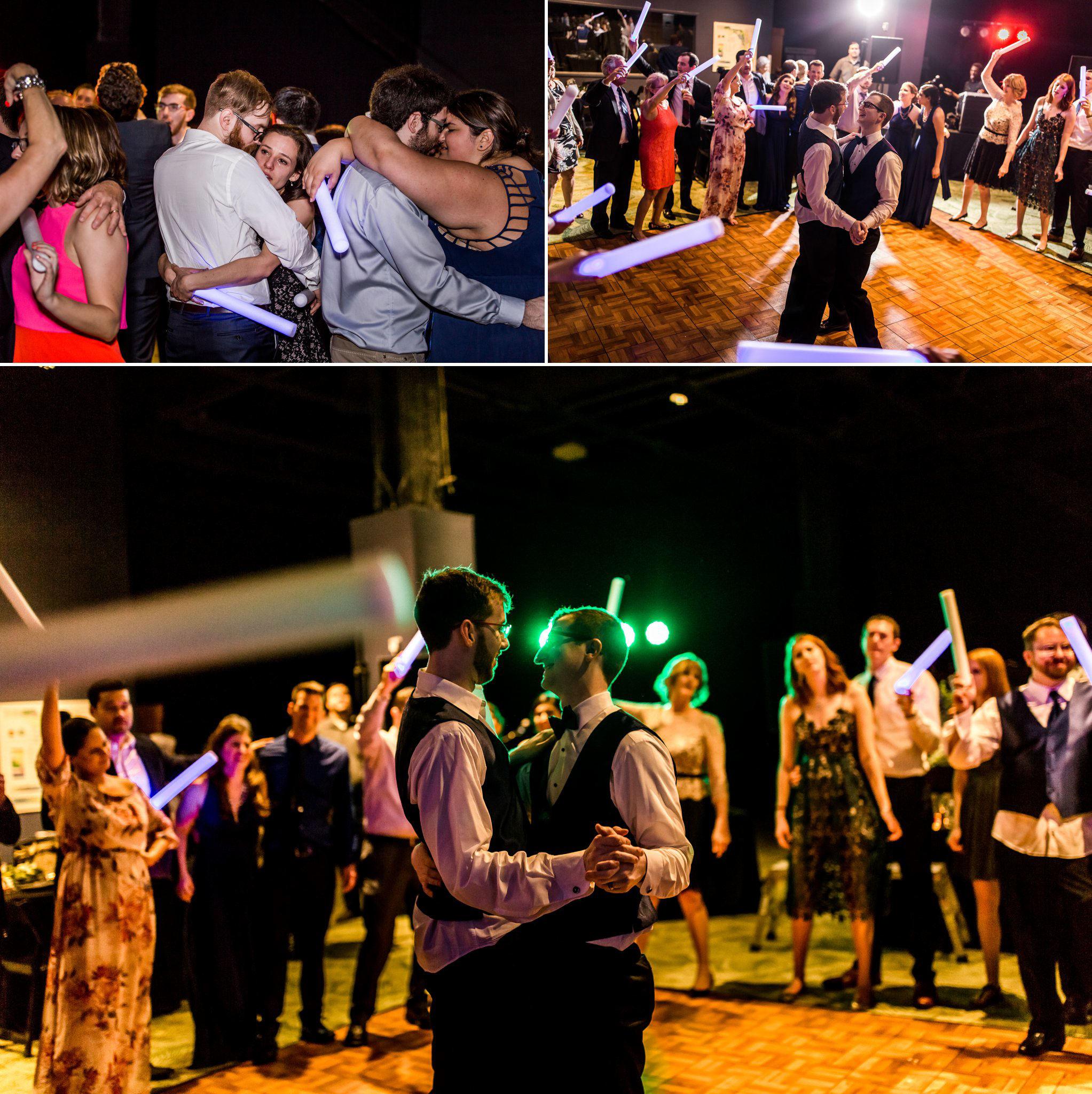 Rollins Chapel + Orlando Science Center Gay LGBT Dinosaur Themed Wedding Adam + Craig 64.jpg