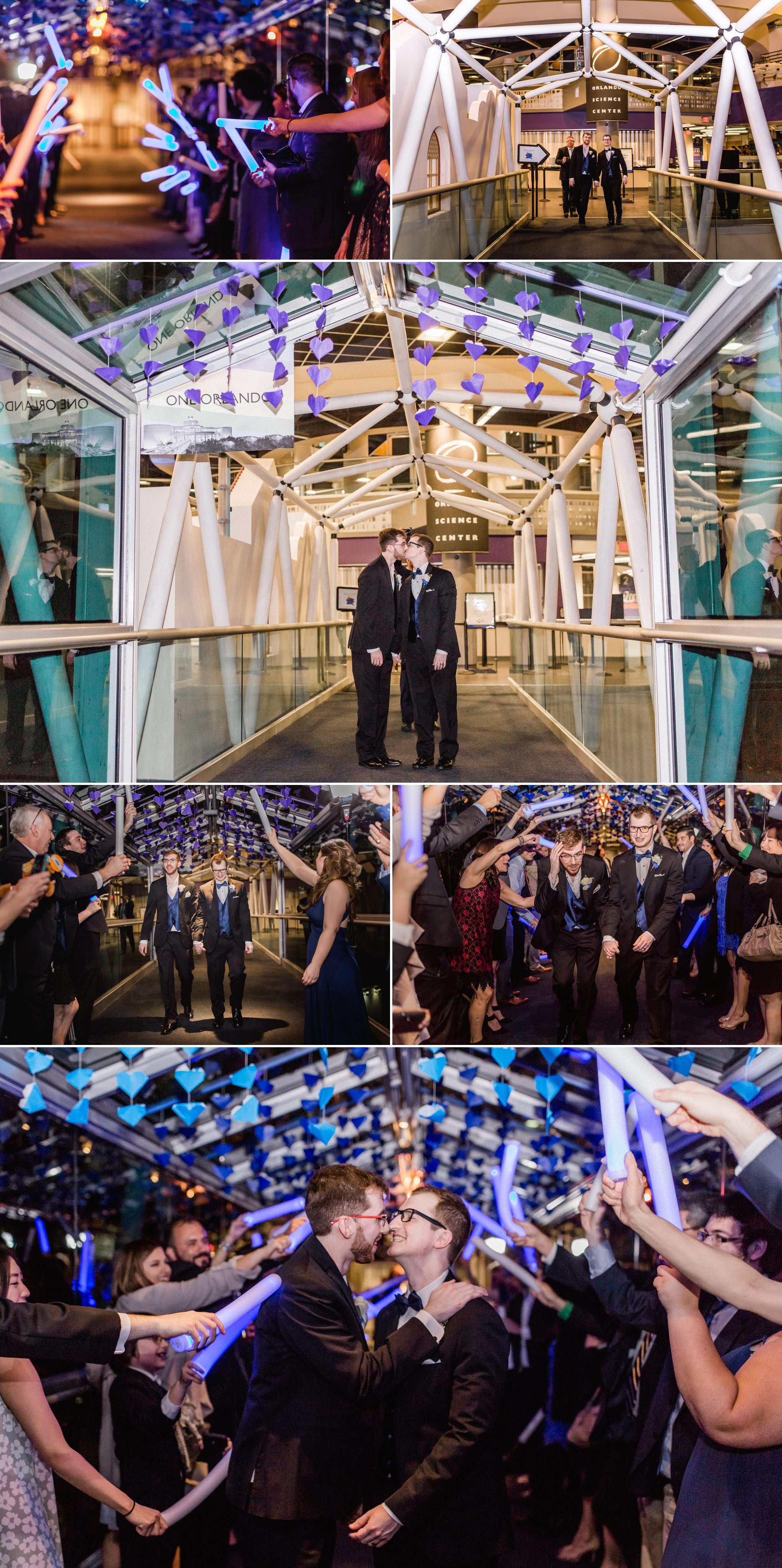 Rollins Chapel + Orlando Science Center Gay LGBT Dinosaur Themed Wedding Adam + Craig 65.jpg