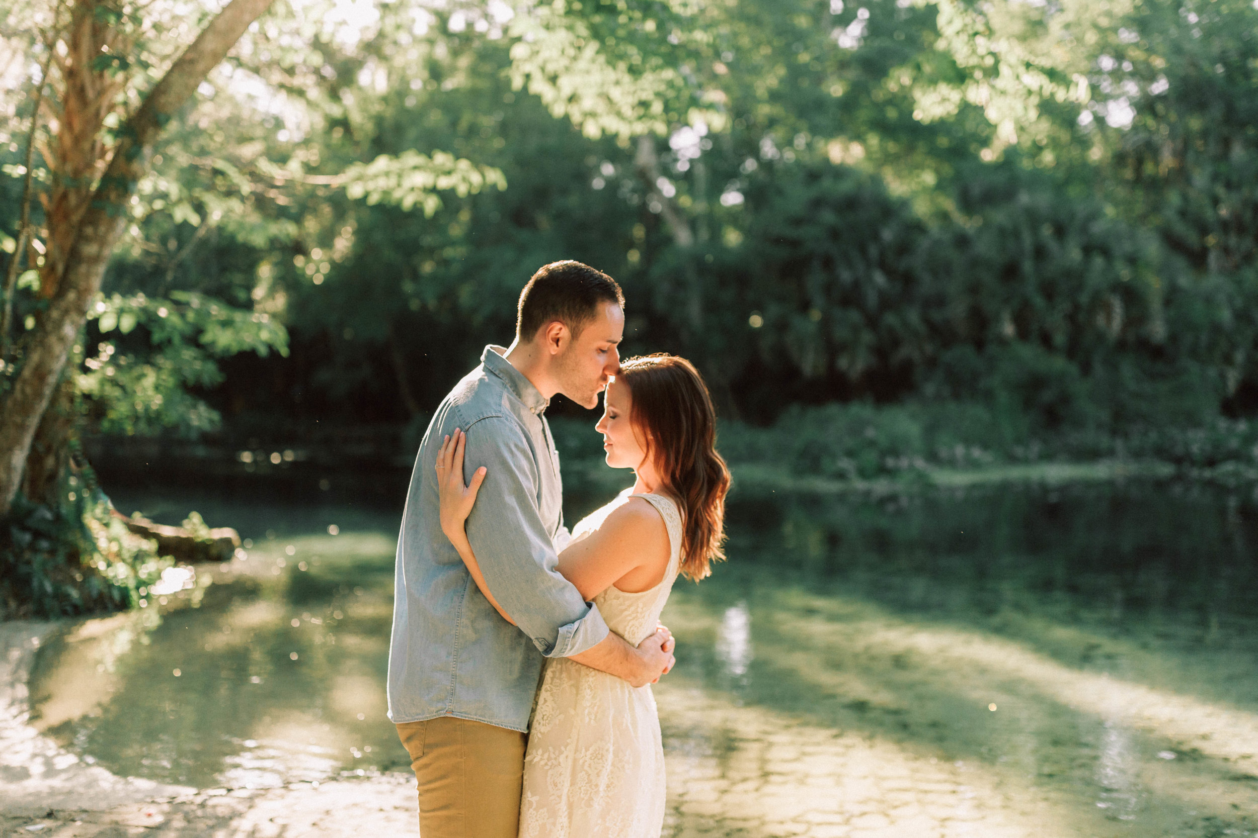 Orlando Engagement session at Wekiva Springs State Park nature-Anthony + Christine 1.jpg