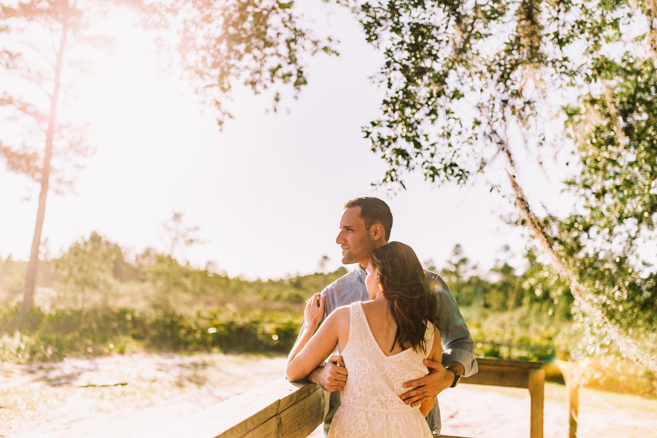 Orlando Engagement session at Wekiva Springs State Park nature-Anthony + Christine 4.jpg