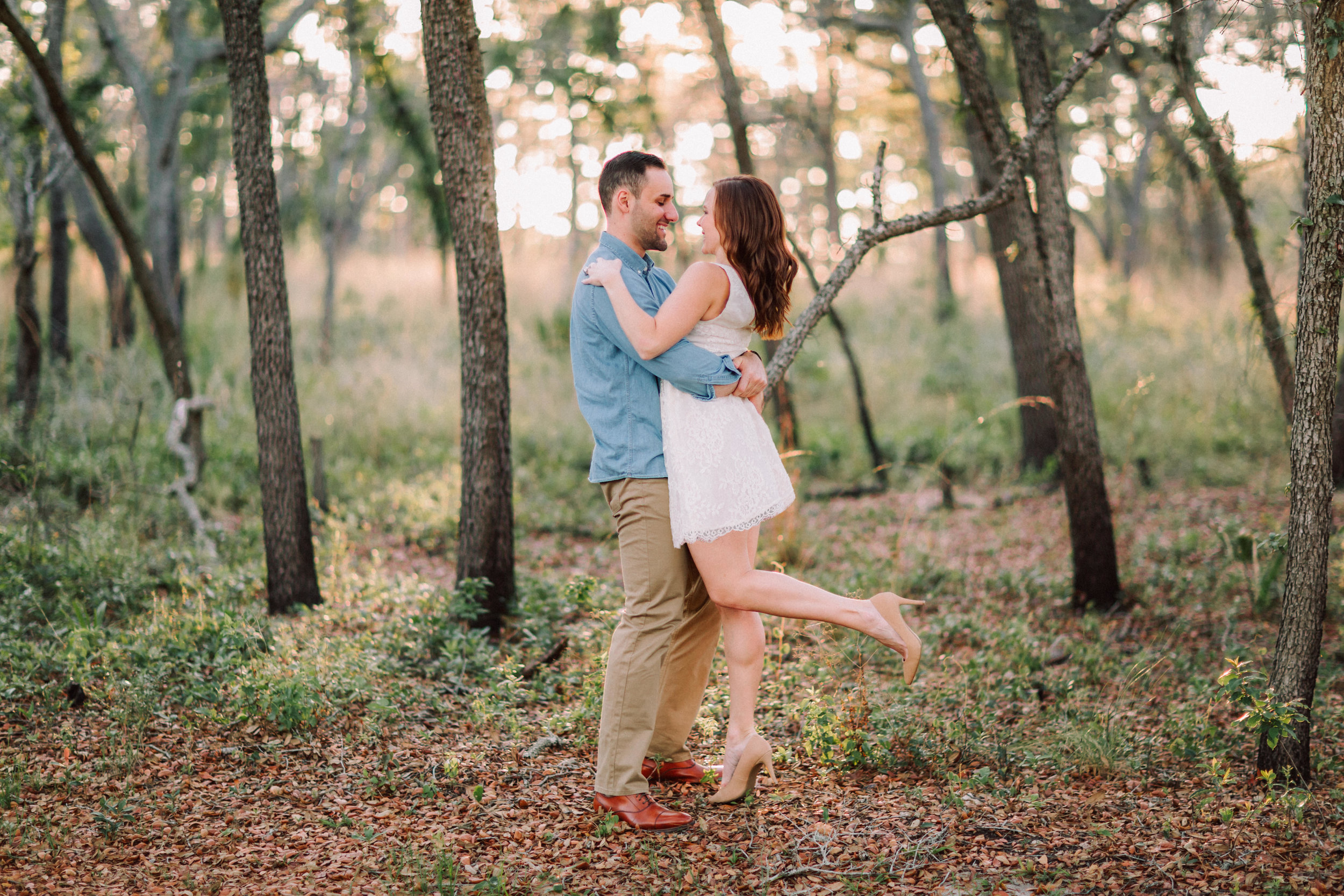 Orlando Engagement session at Wekiva Springs State Park nature-Anthony + Christine 23.jpg