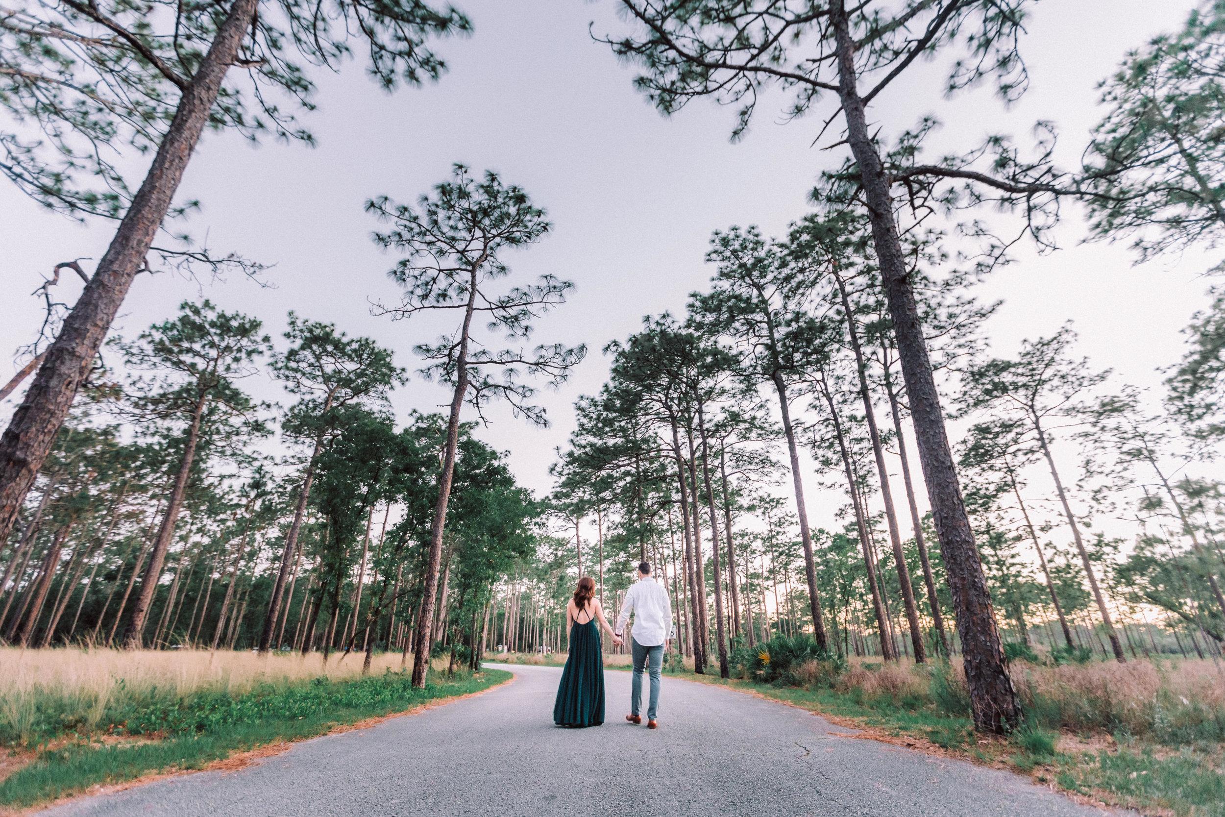 Orlando Engagement session at Wekiva Springs State Park nature-Anthony + Christine 70.jpg